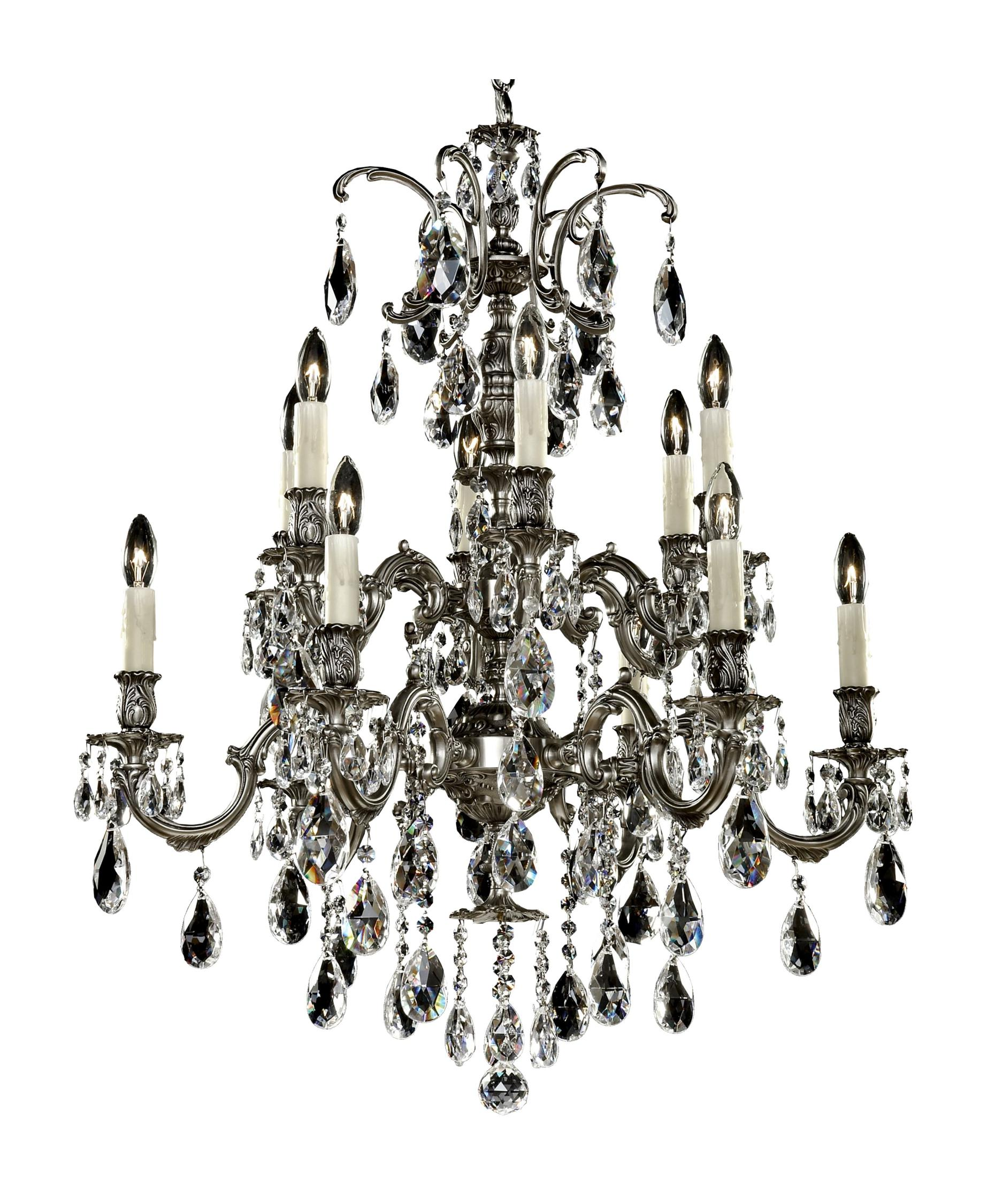 American Brass and Crystal Marlena 27 Inch Wide 66 Light – American Brass and Crystal Chandeliers