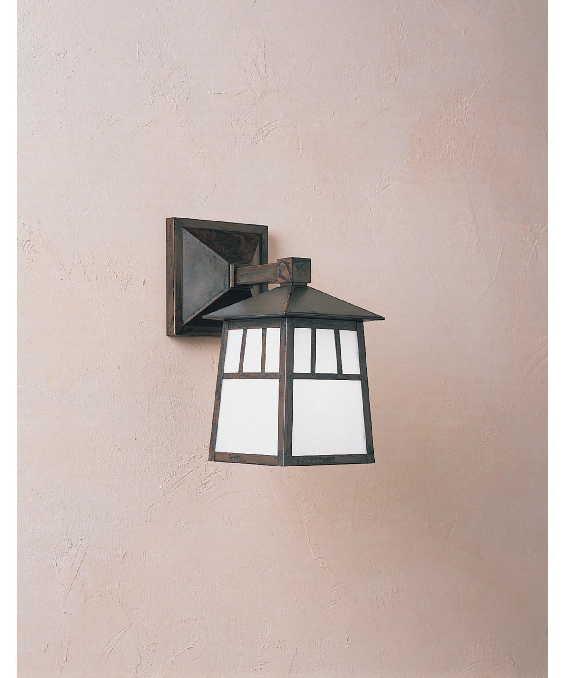 shown in bronze finish and white opalescent glass arroyo craftsman lighting