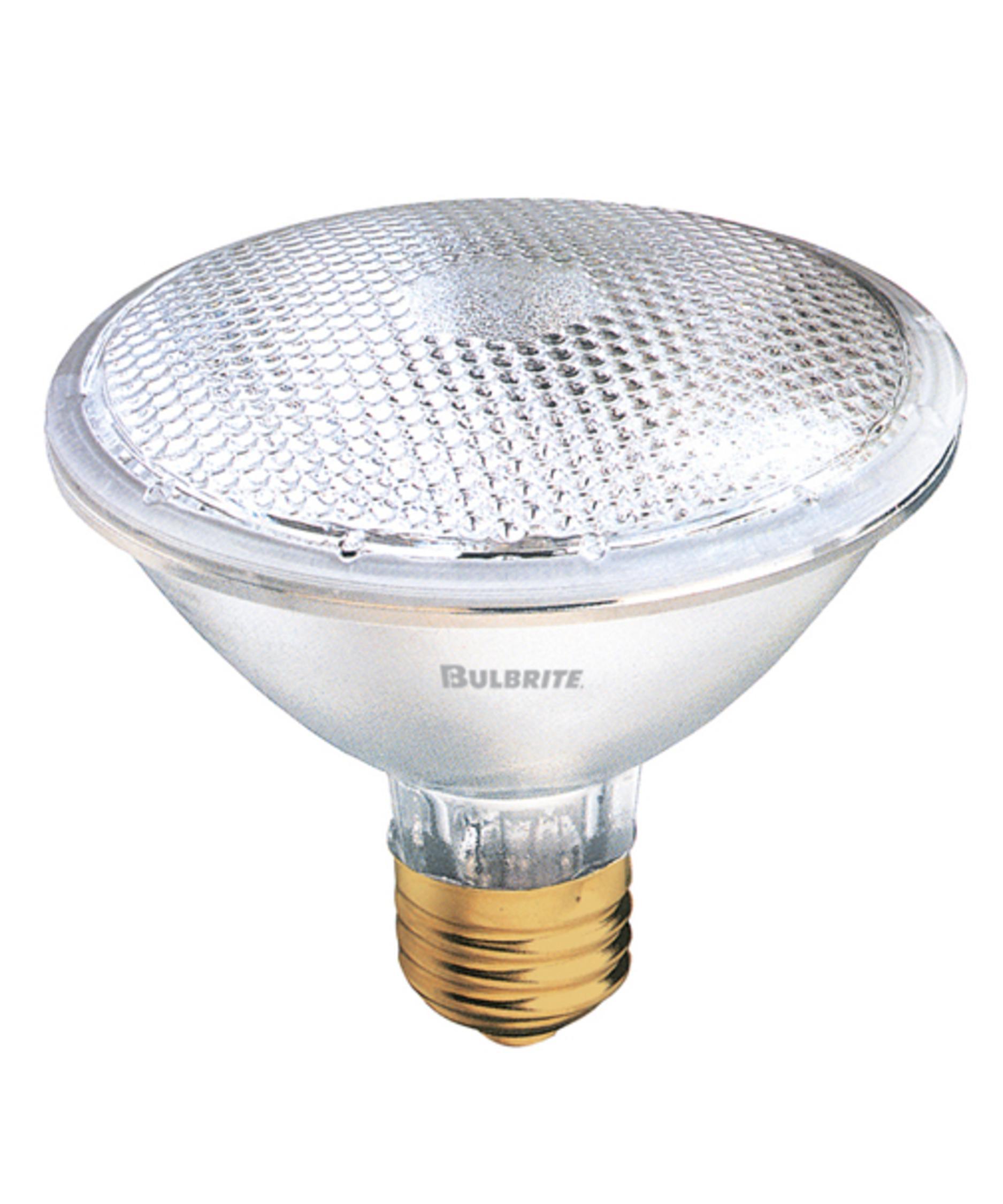 bulbrite h75par30nf 75 watt 120 volt clear par30 halogen. Black Bedroom Furniture Sets. Home Design Ideas