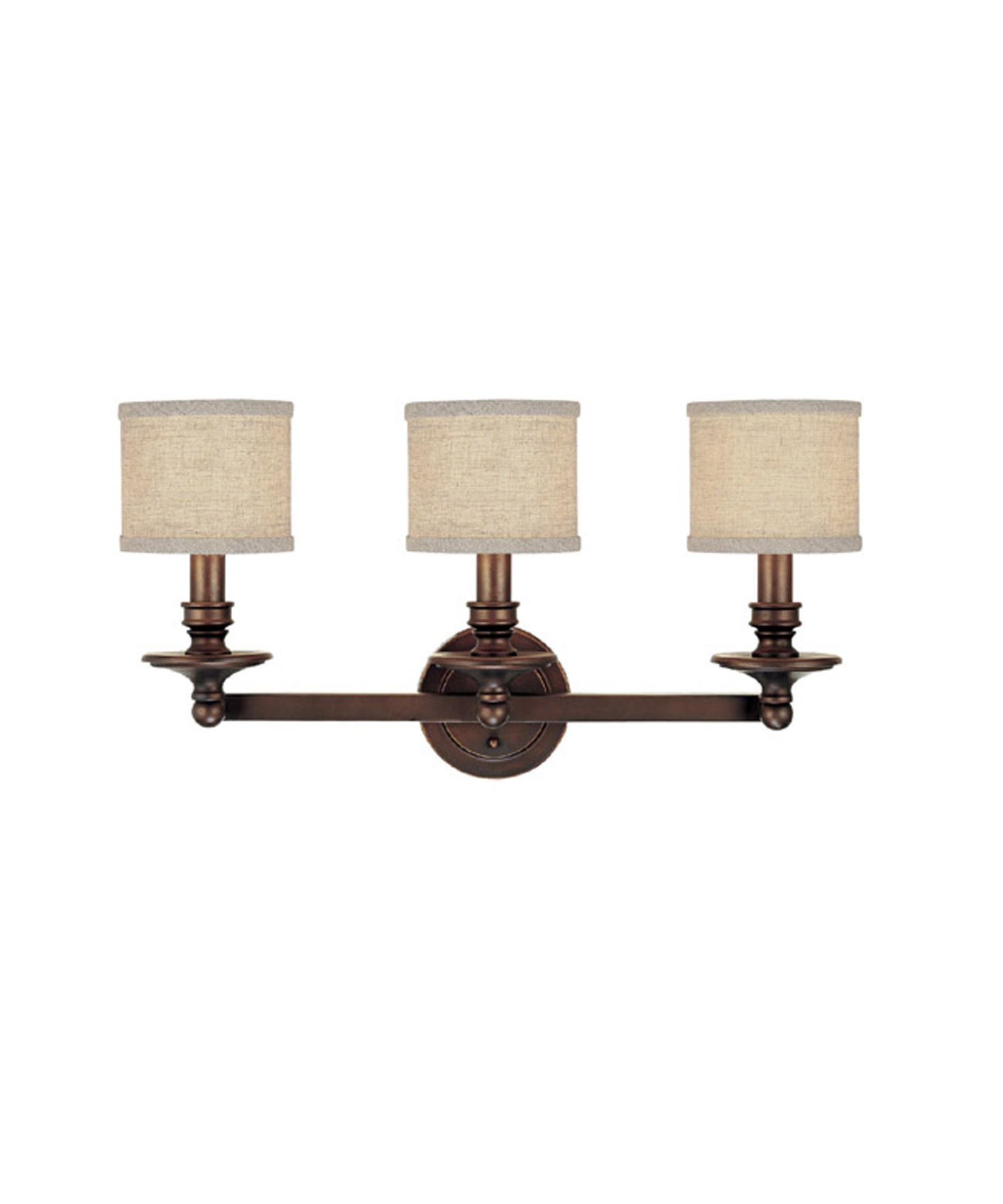Bathroom Vanity Lights In Bronze capital lighting 1238 midtown 26 inch wide bath vanity light