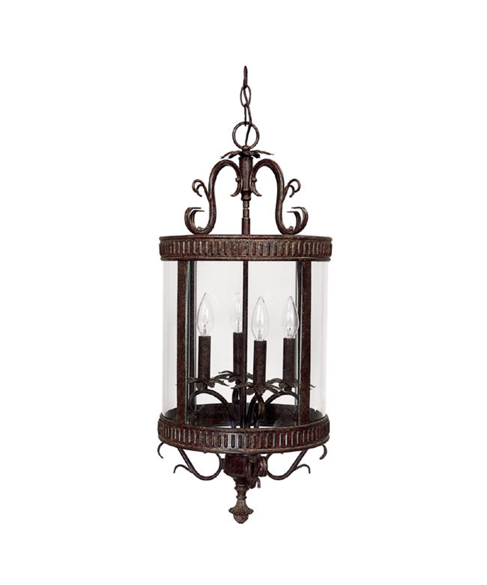 shown in tortoise finish and clear glass - Capital Lighting