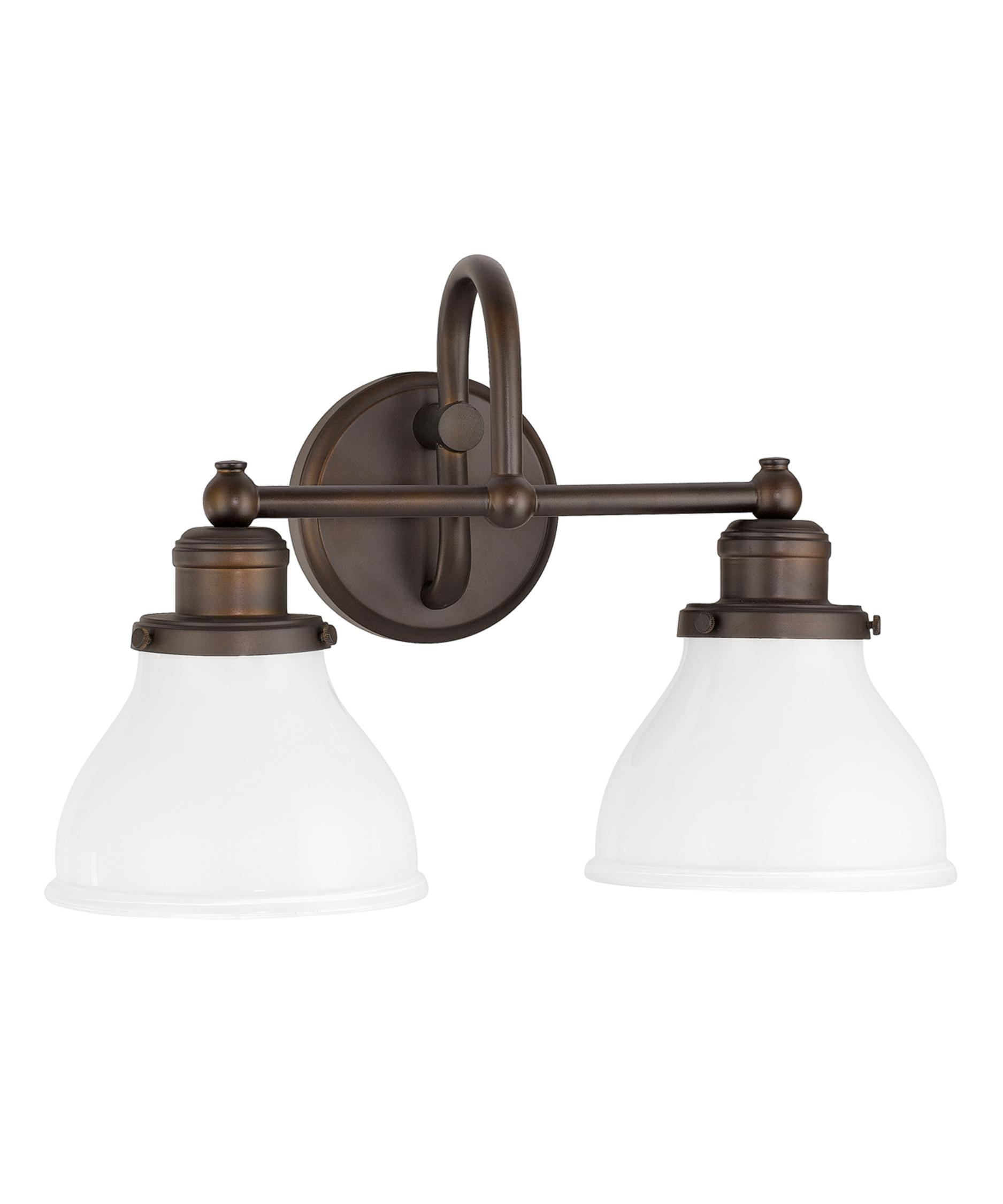 Bathroom Vanity Lights In Bronze capital lighting 8302 baxter 16 inch wide bath vanity light
