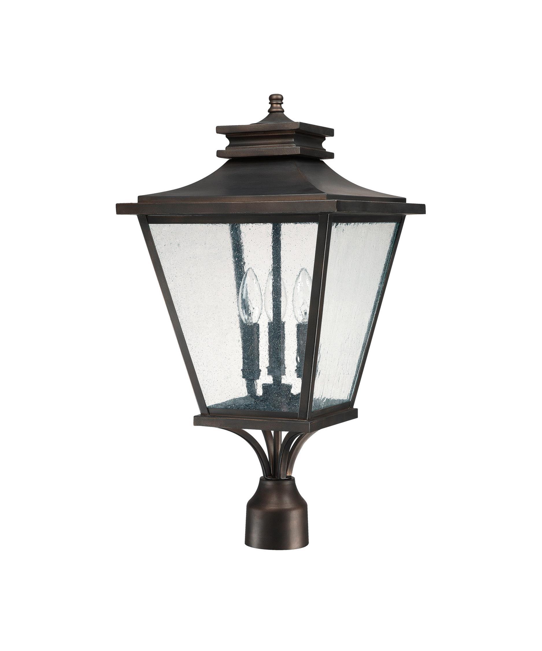 capital lighting gentry 12 inch wide 3 light outdoor post lamp capitol lighting - Capital Lighting