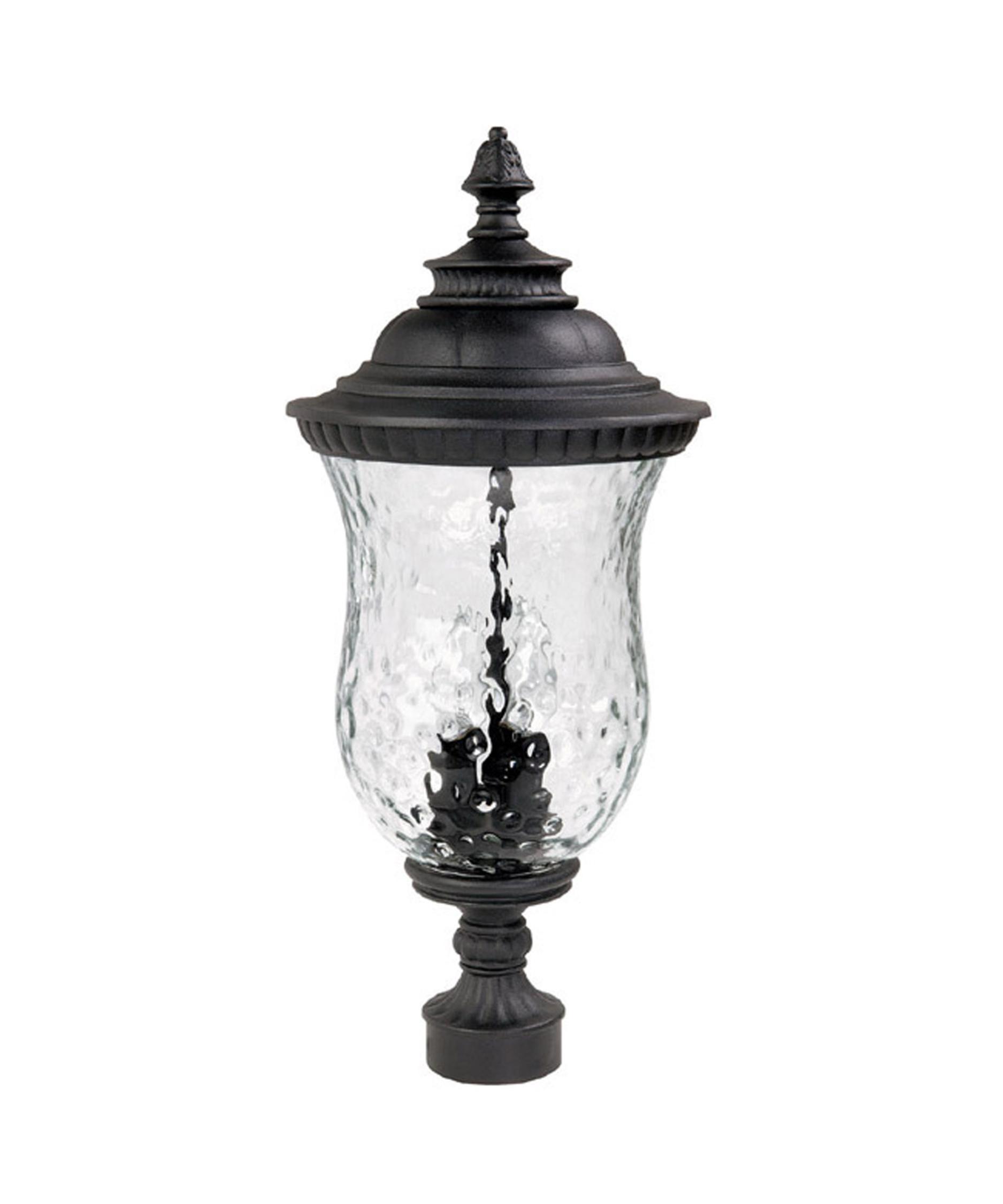 Capital Lighting 9785 Ashford 10 Inch Wide 3 Light Outdoor Post Lamp    Capitol Lighting 1 800lighting.com