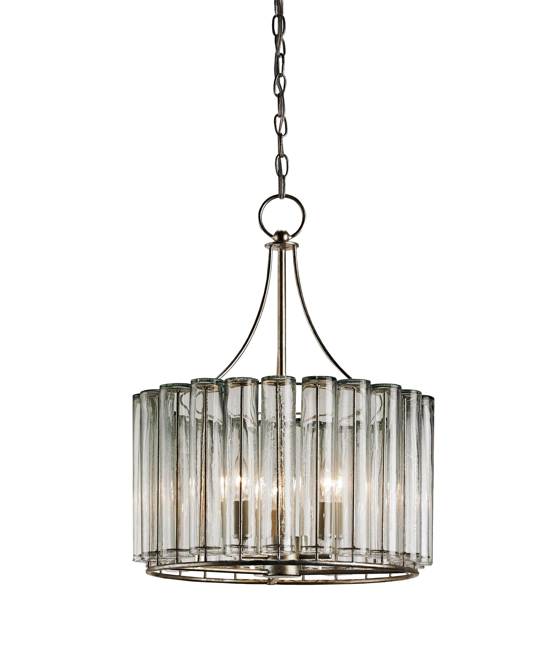 Currey and Company Bevilacqua 18 Inch Wide 3 Light Mini Chandelier – Currey and Company Lighting Chandeliers