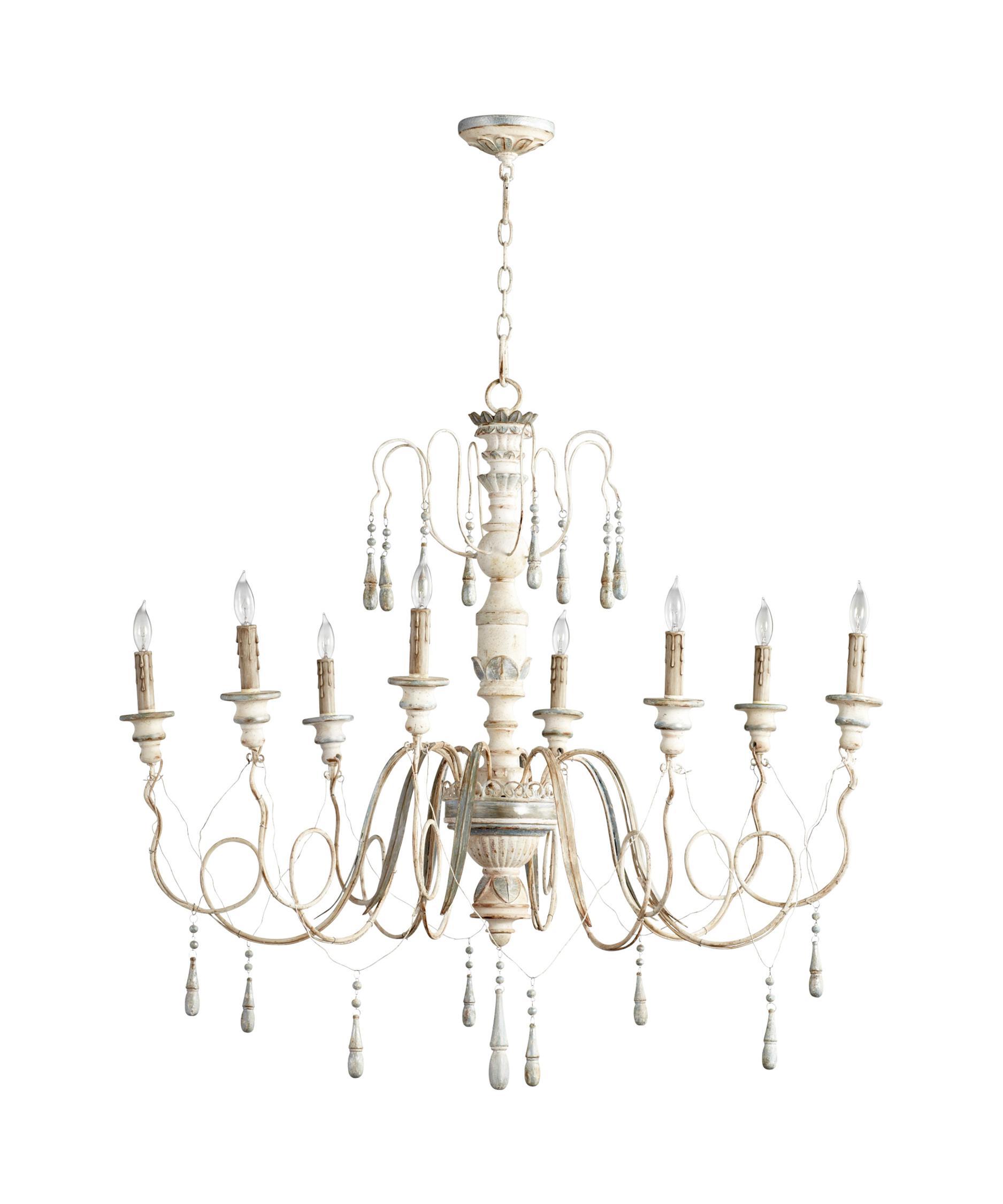 cyan design 05714 chantal chandelier | capitol lighting 1