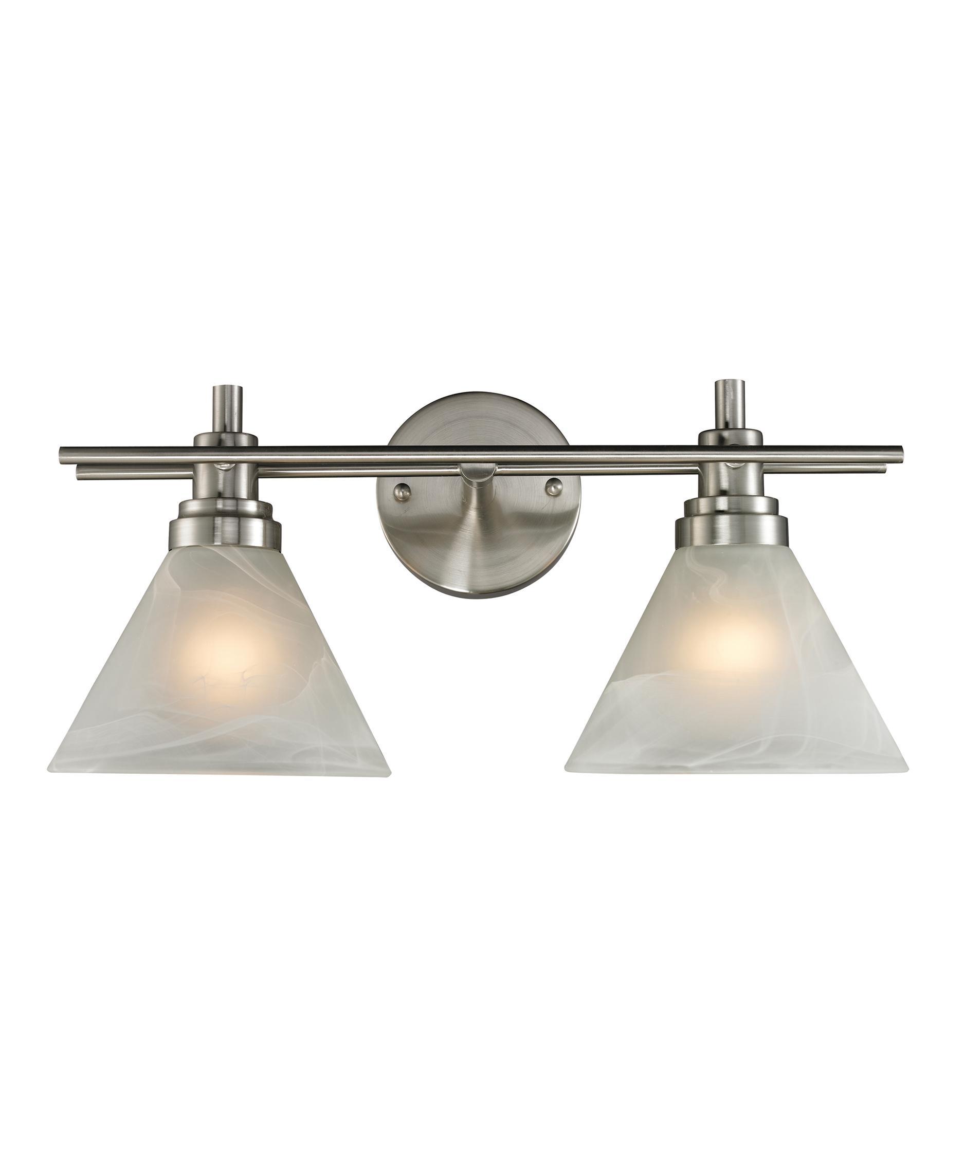 Bathroom Vanity Lights For Sale elk lighting 11401-2 pemberton 18 inch wide bath vanity light