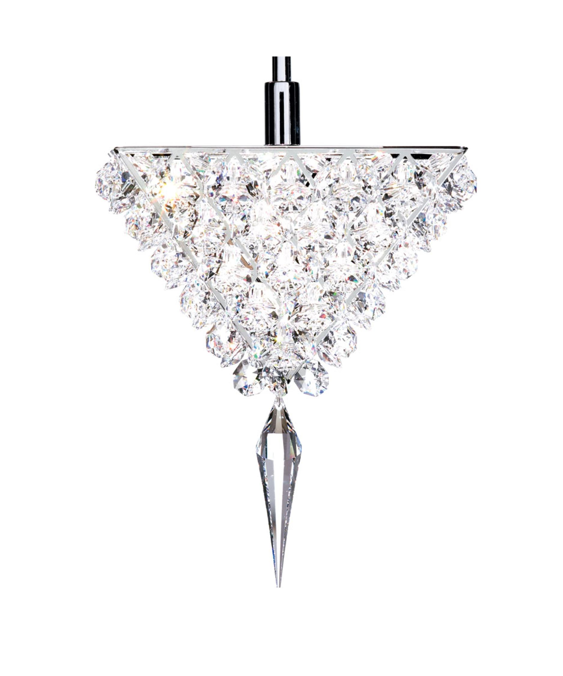 geometrix by schonbek vr0607 vertex 6 inch wide 1 light mini pendant capitol lighting - Schonbek