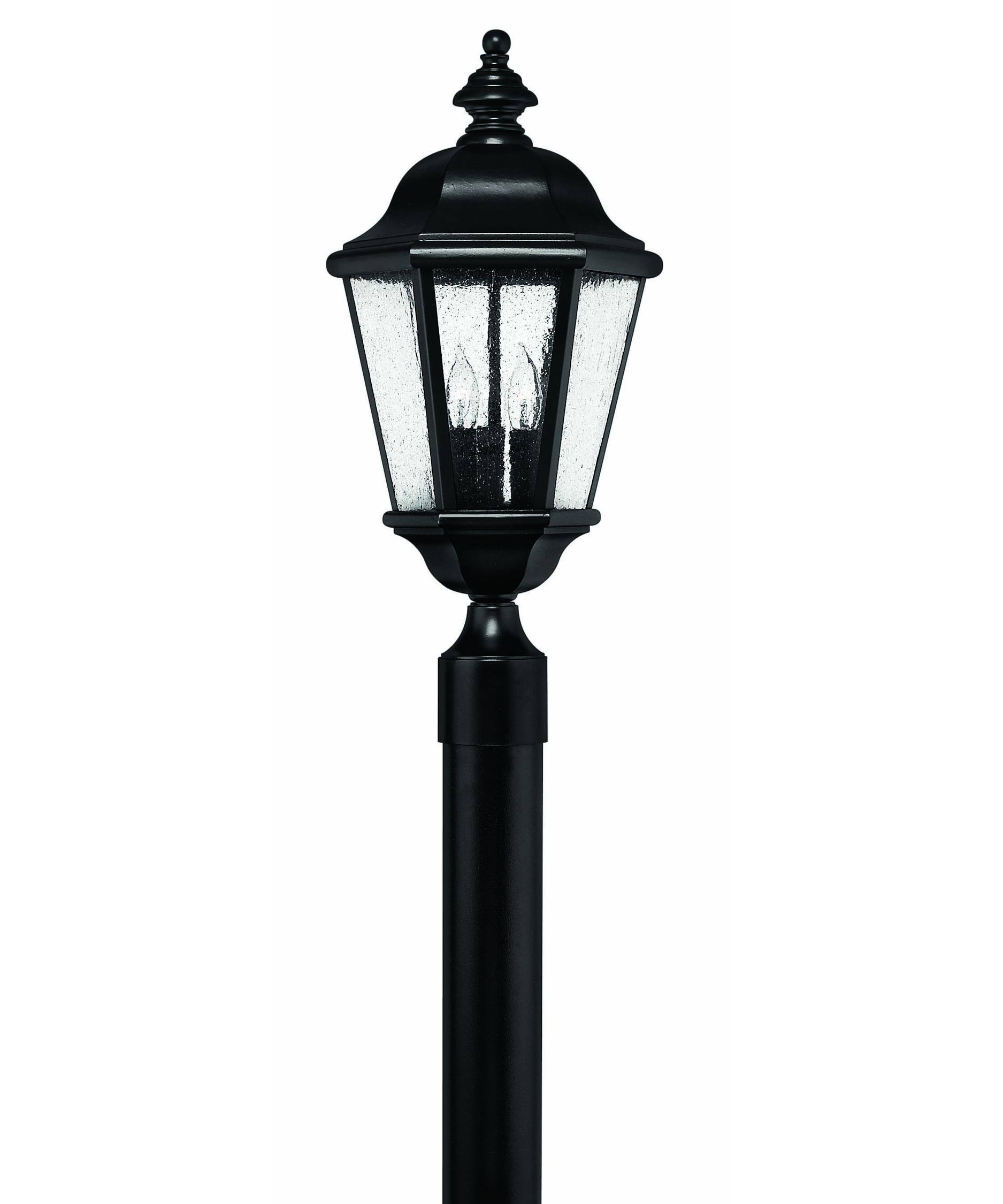 Outdoor Post Light Bulbs: Hinkley Lighting 1671 Edgewater 3 Light Outdoor Post Lamp