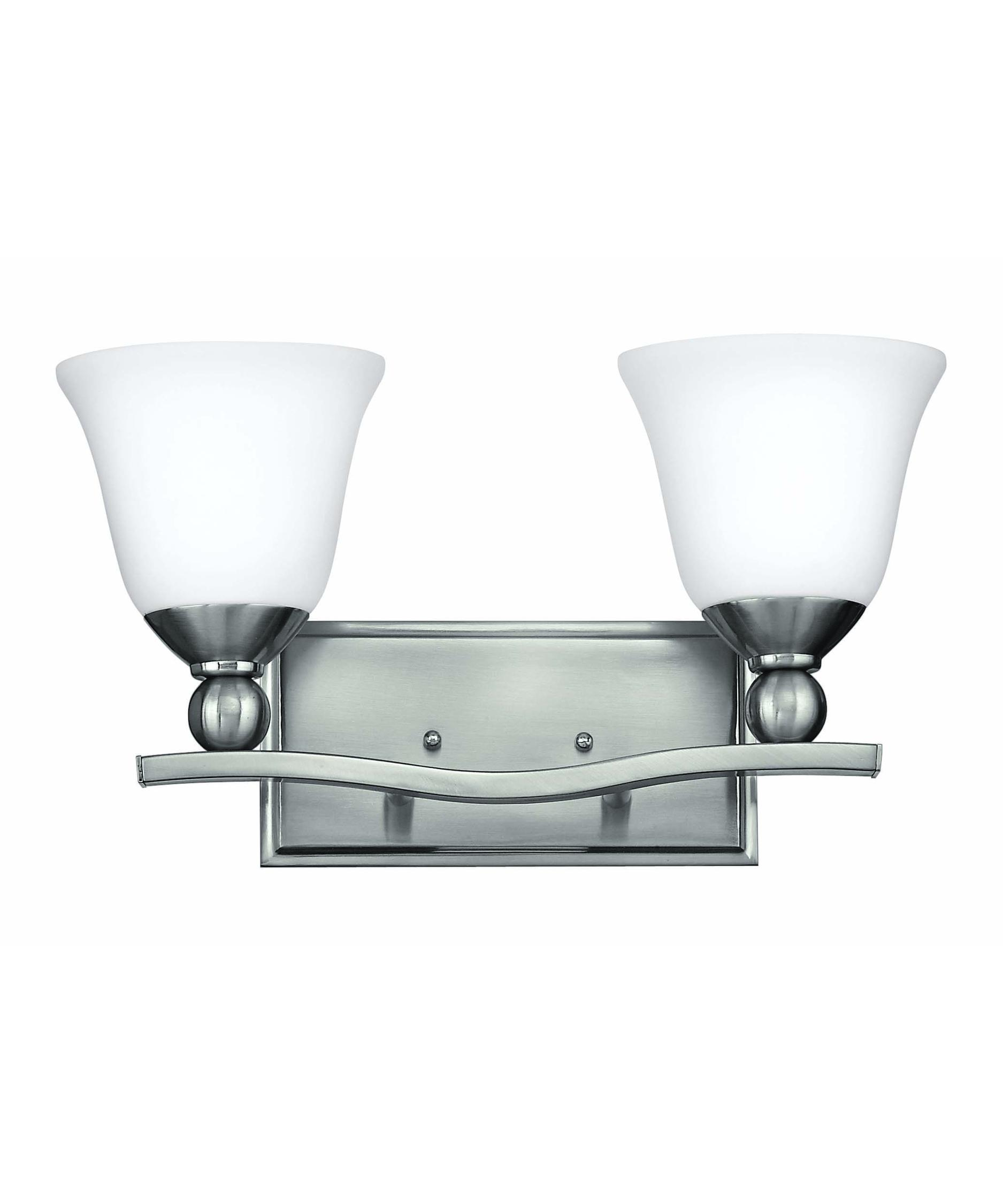 Hinkley lighting 5892 bolla 16 inch bath vanity light for Hinkley bathroom vanity lighting
