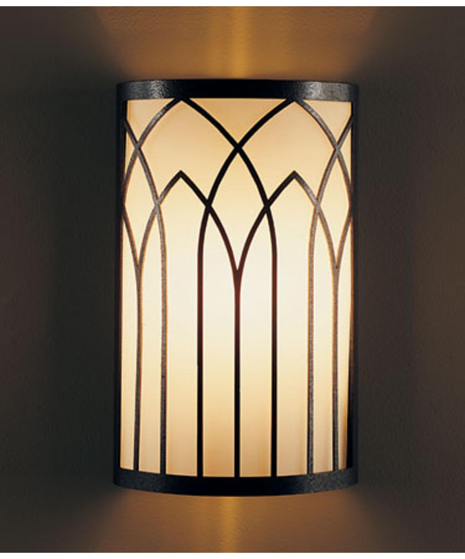 shown in natural iron finish - Hubbardton Forge