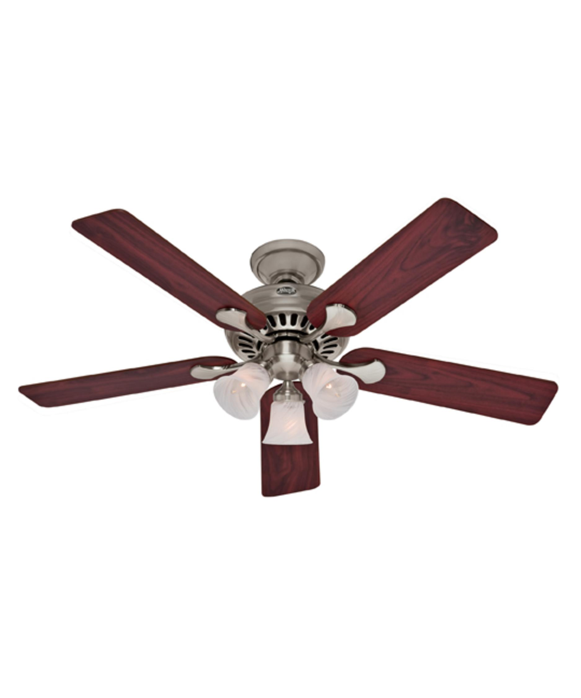 Murray Feiss Ceiling Fan Light Kit: Hunter Fan Summer Breeze Plus 52 Inch Ceiling Fan With