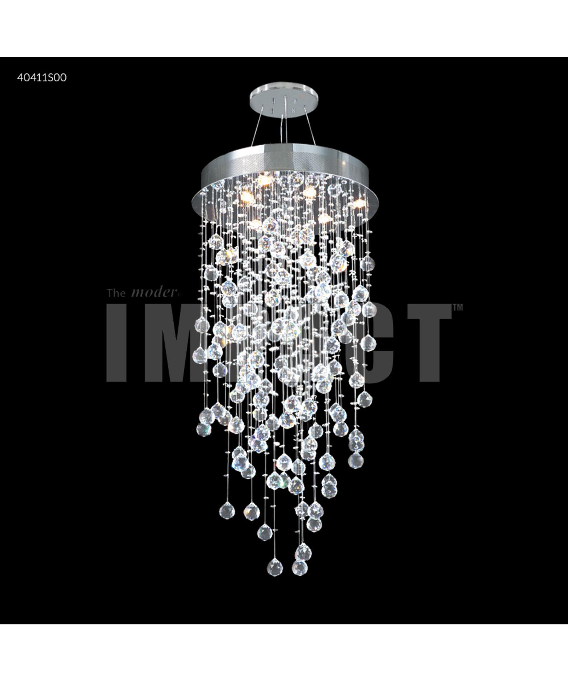 James Moder Chandeliers: James R Moder Crystal Rain 20 Inch Wide 6 Light Mini Chandelier   Capitol  Lighting 1-800lighting.com,Lighting