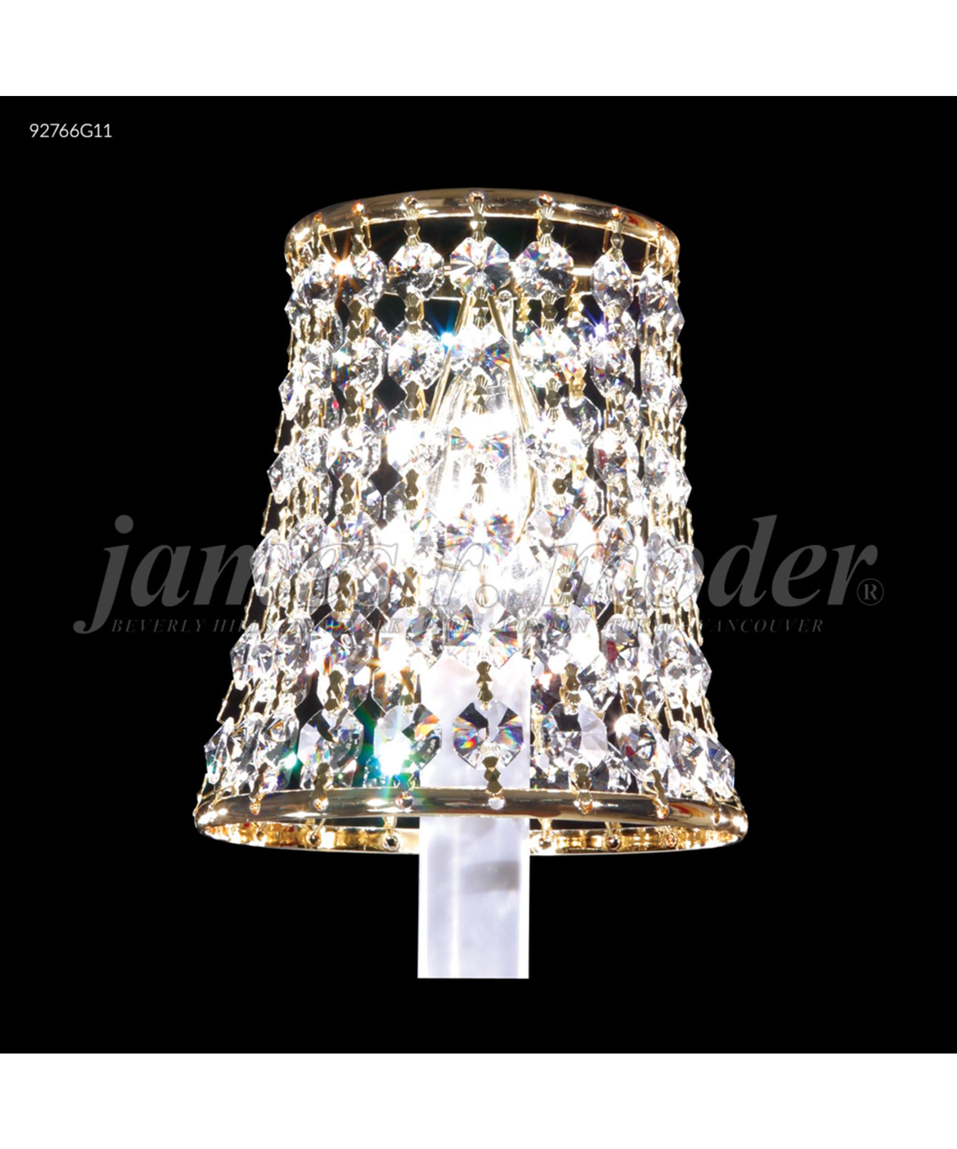 Mini lamp shades -  Shades Lacquered Design Astonish Chandelier Lamp Shown In Royal Gold Finish And Spectra Swarovski Crystal