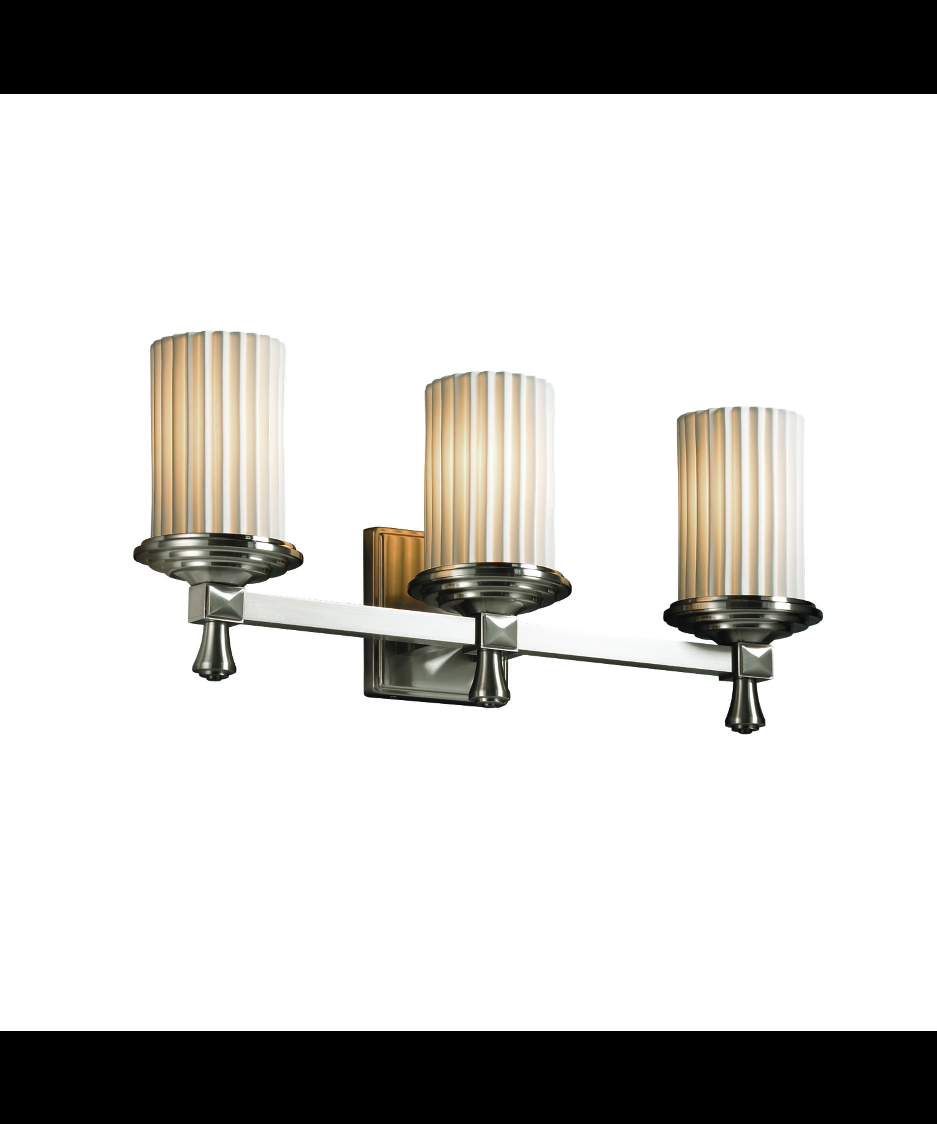 Justice Design Group Limoges Deco 21 Inch Bath Vanity Light Capitol Lighting 1