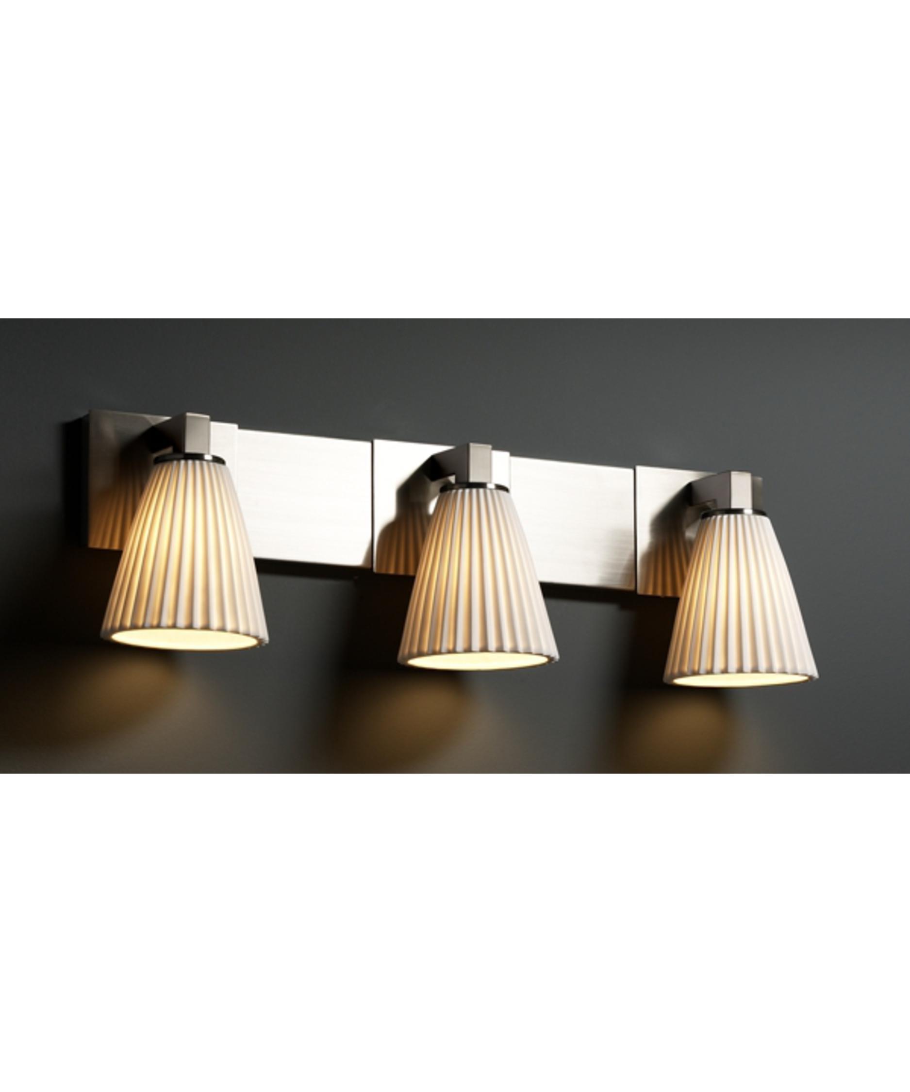 Justice design group limoges modular 27 inch bath vanity light capitol lighting 1 - Justice design group bathroom lighting ...