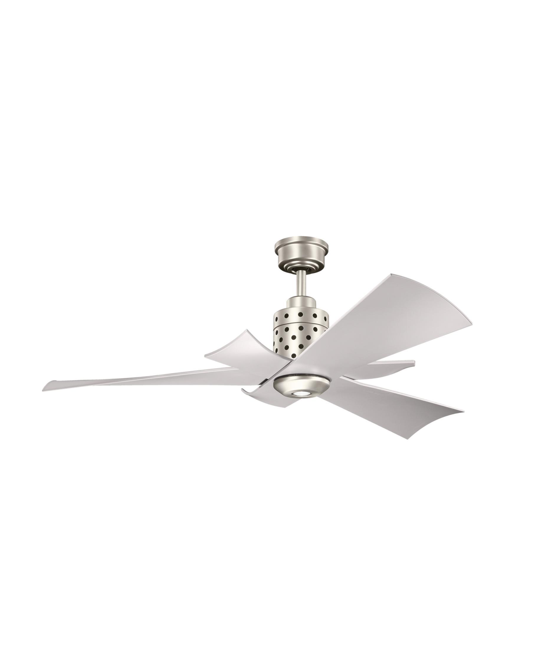Kichler 300163 Frey 56 Inch Ceiling Fan With Light Kit
