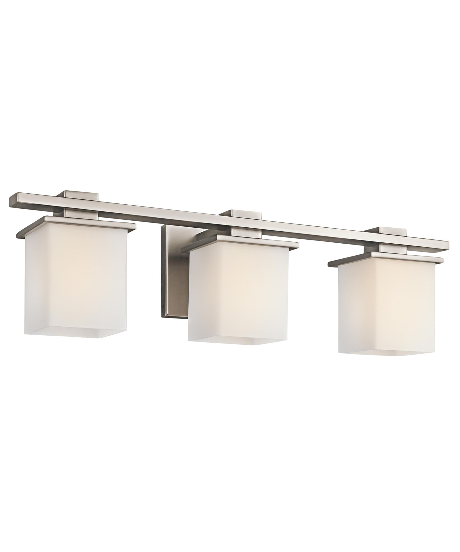 Bathroom Vanity Lights Kichler kichler 45151 tully 24 inch wide bath vanity light | capitol