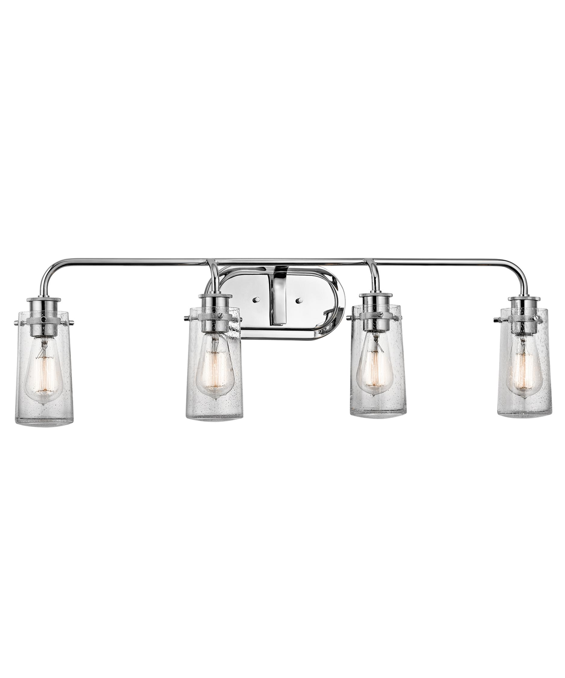 Bathroom Vanity Lights Kichler kichler 45460 braelyn 34 inch wide bath vanity light | capitol