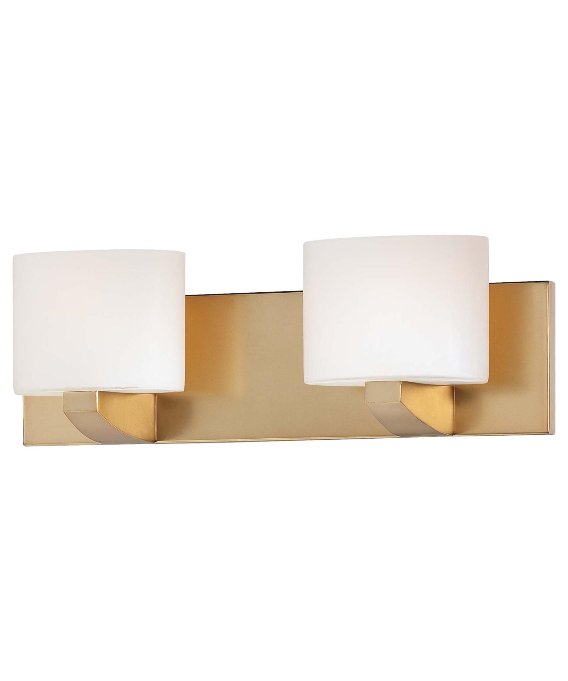 shown in honey gold finish and etched opal glass - Minka Lighting