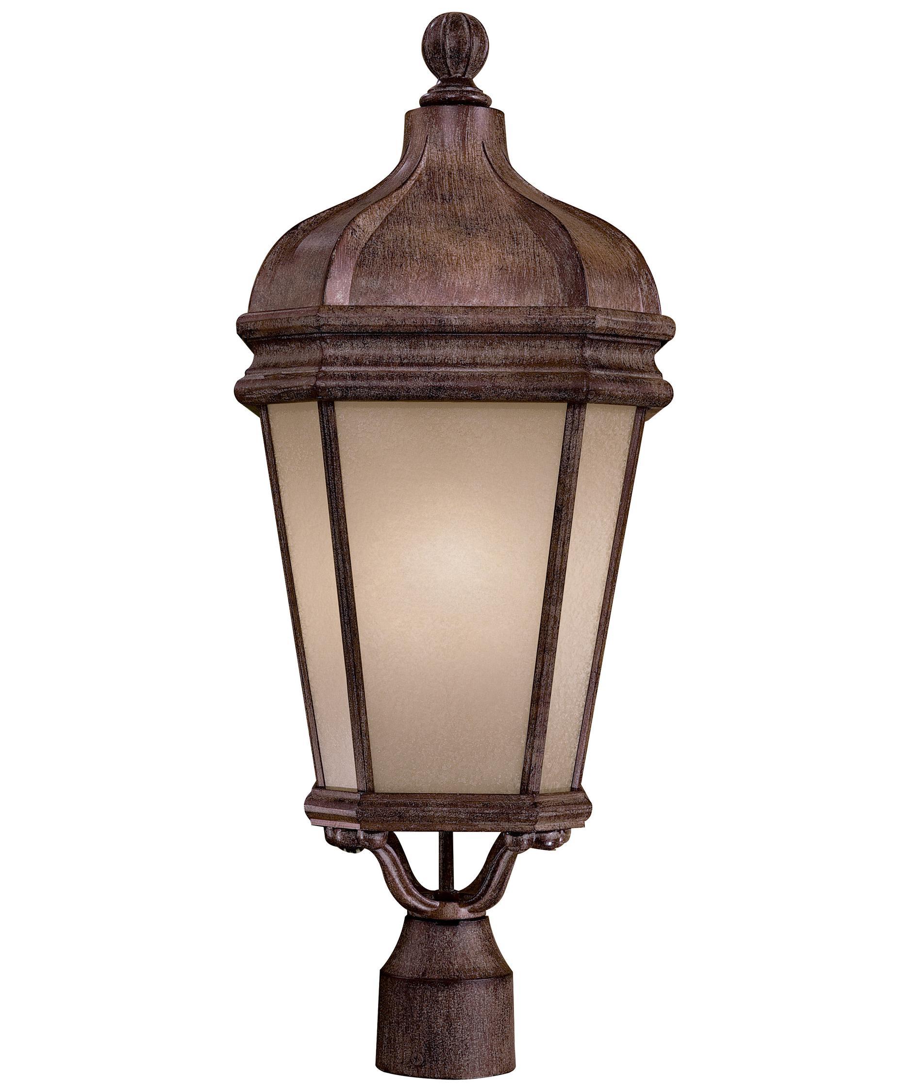 Minka Lavery Post Lights: Minka Lavery 8696PL Harrison Energy Smart 1 Light Outdoor