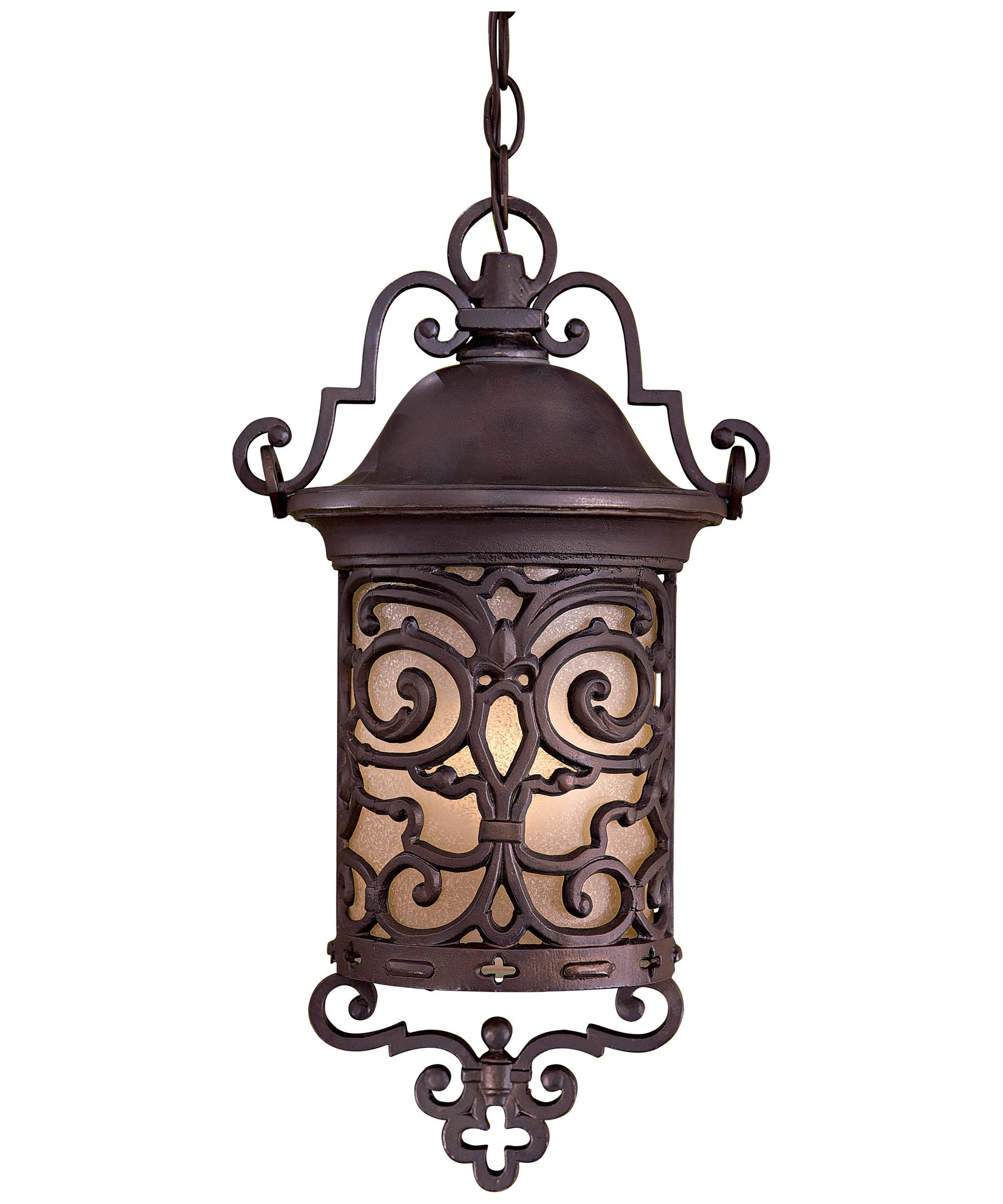 Shown In Chelsea Bronze Finish And Double French Scavo Glass