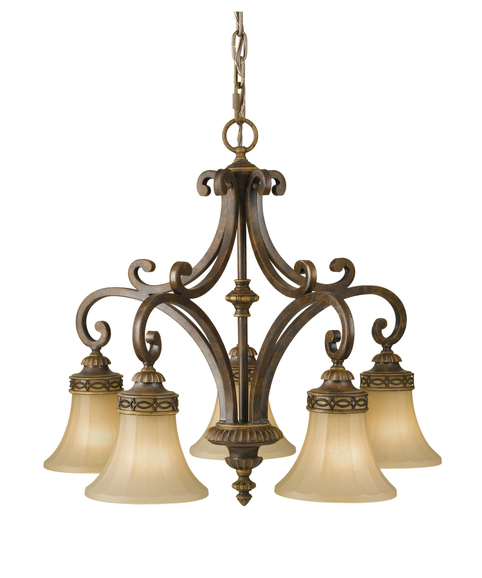 Murray Feiss Drawing Room 25 Inch Wide 5 Light Chandelier – Murray Feiss Chandeliers