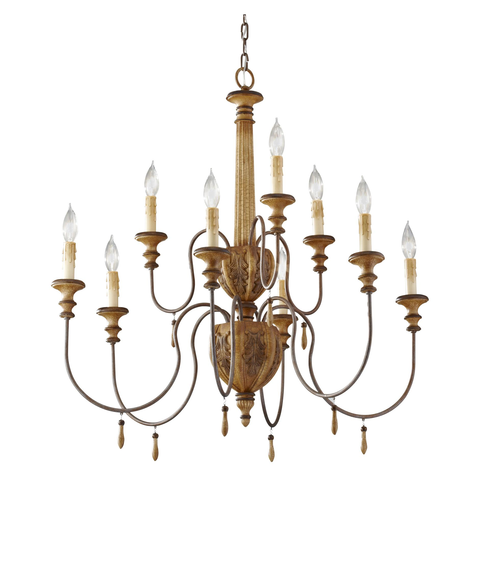 Murray Feiss Annabelle 32 Inch Wide 9 Light Chandelier – Murray Feiss Chandeliers
