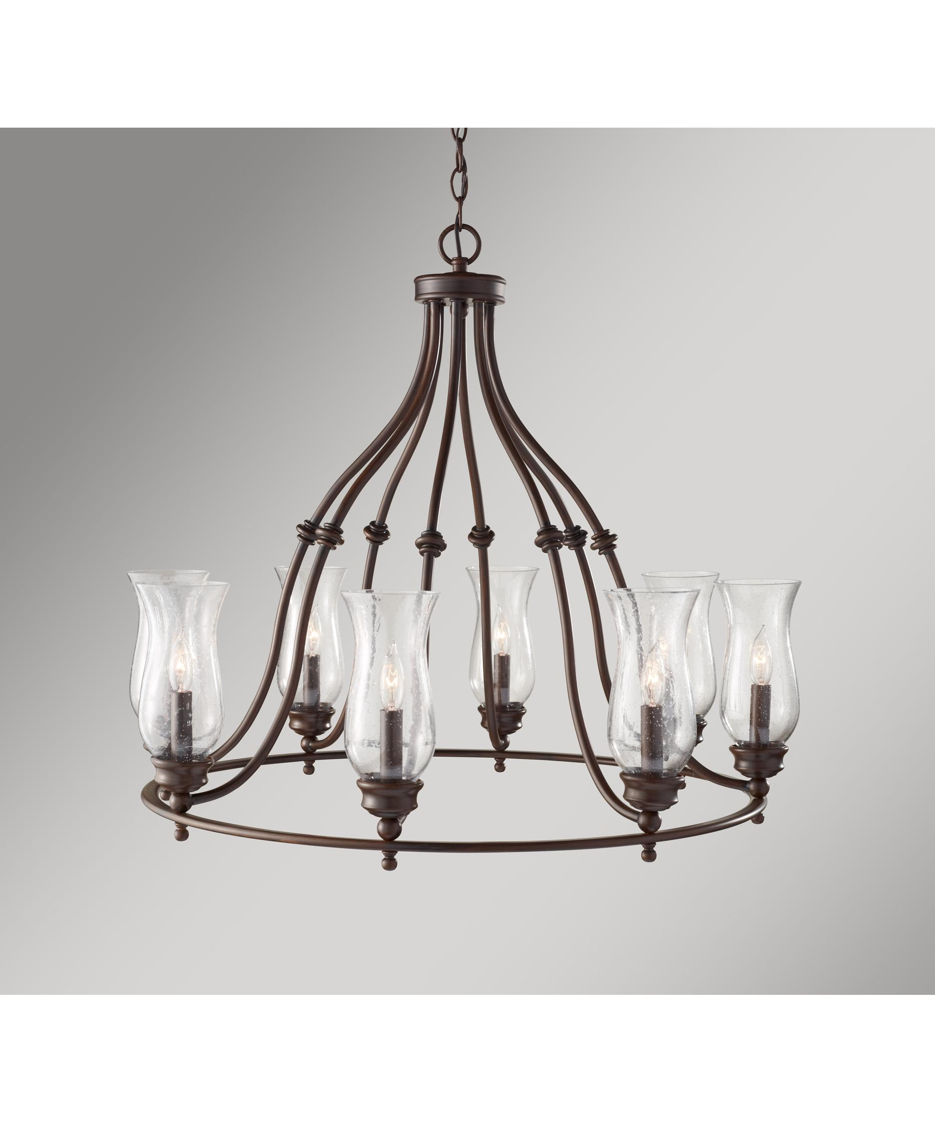Murray Feiss Pickering Lane 32 Inch Wide 8 Light Chandelier – Murray Feiss Chandeliers