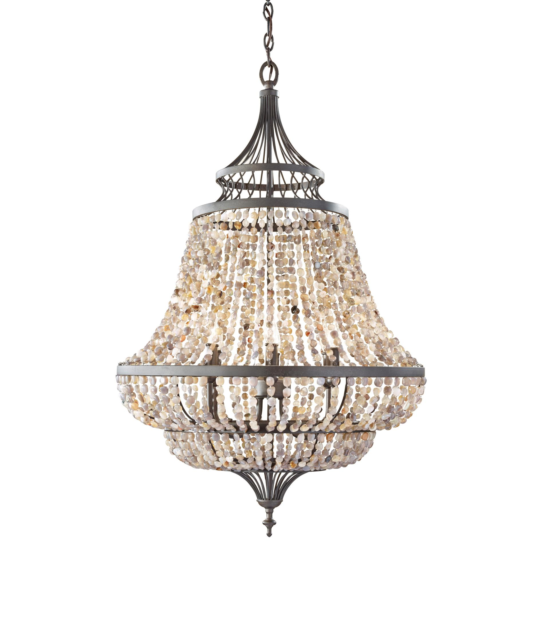 Murray Feiss Maarid 24 Inch Wide 6 Light Chandelier – Murray Feiss Chandeliers