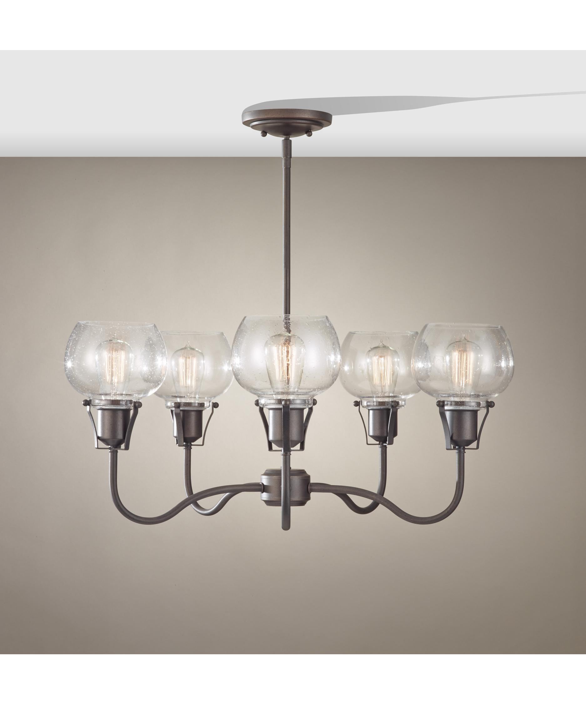 Murray Feiss Urban Renewal 27 Inch Wide 5 Light Chandelier – Murray Feiss Chandeliers