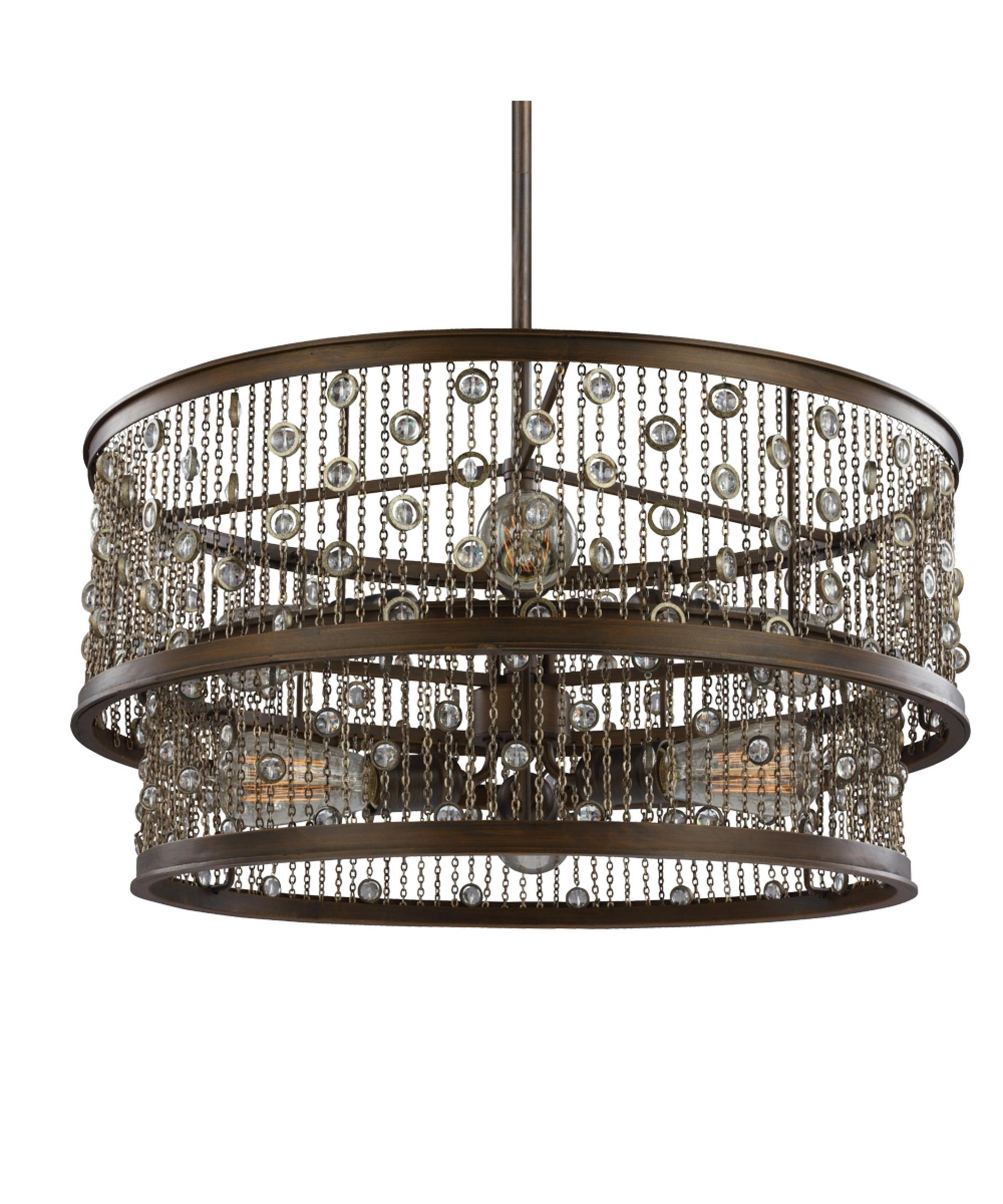 Murray Feiss Colorado Springs 24 Inch Wide 6 Light Large Pendant ...