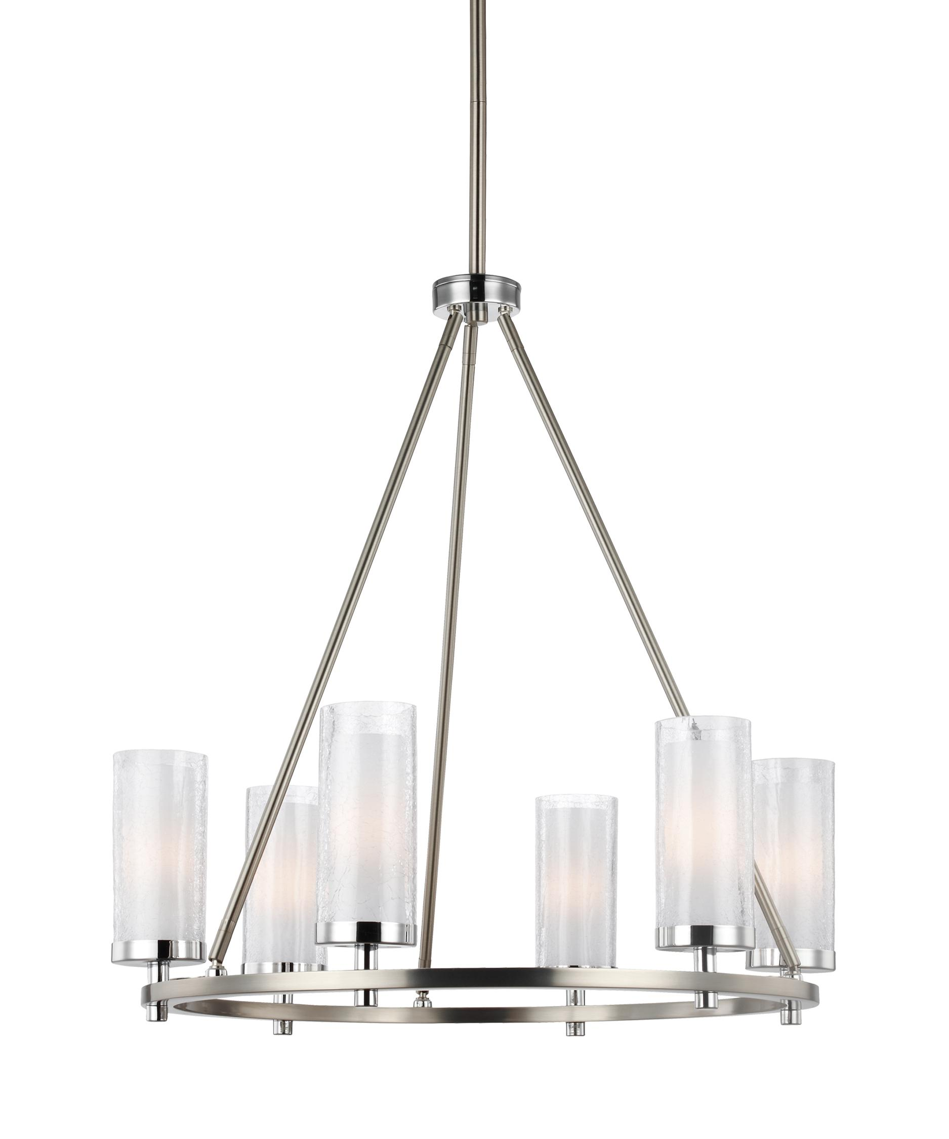 Murray Feiss Jonah 25 Inch Wide 6 Light Chandelier – Murray Feiss Chandeliers