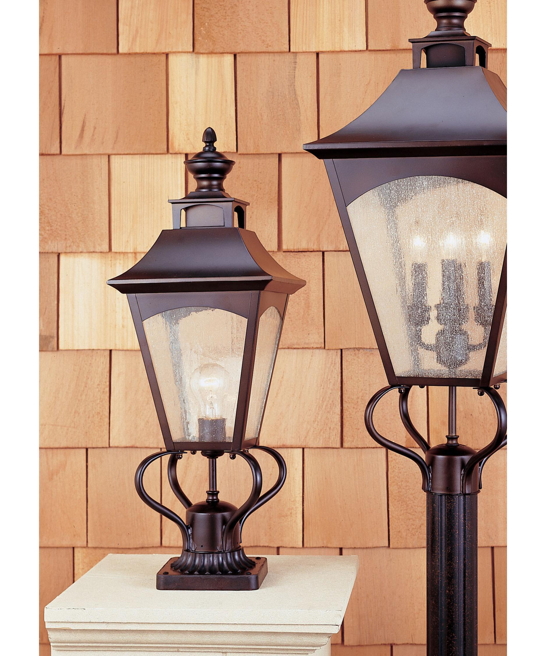 Murray Feiss Outdoor Lighting: Murray Feiss OL1007 Homestead 1 Light Outdoor Post Lamp
