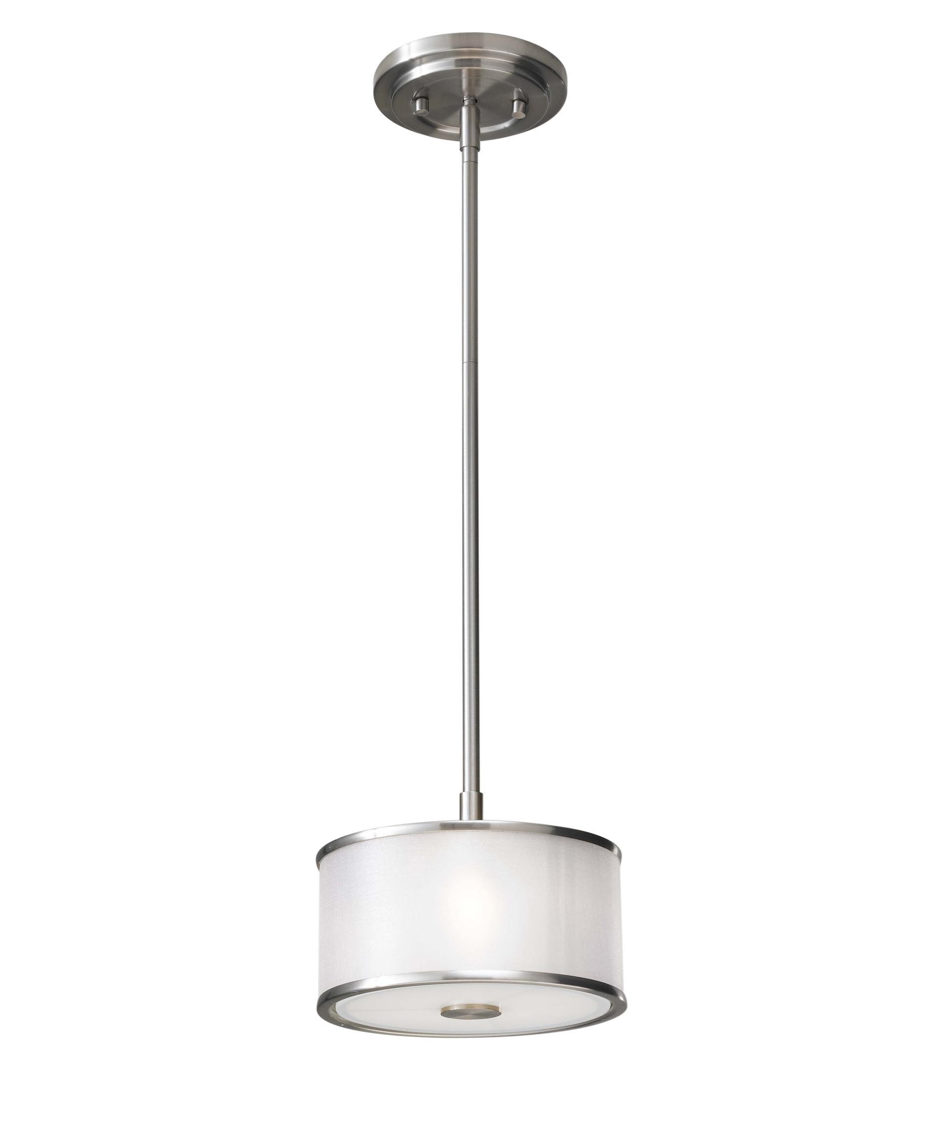 Murray Feiss Bathroom Lighting: Murray Feiss P1137 Casual Luxury 8 Inch Mini Pendant