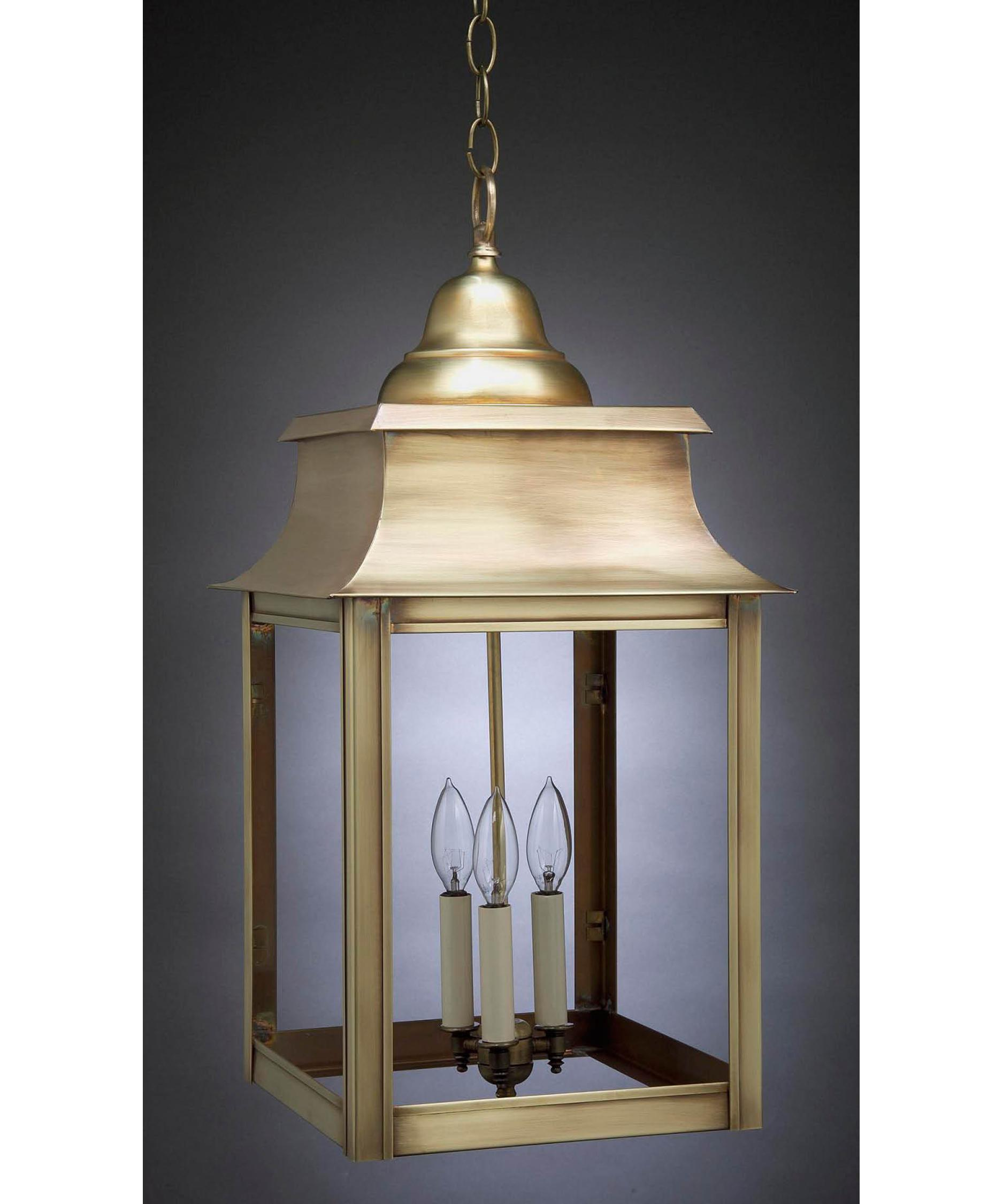 Outdoor hanging lamp - Shown With Clear Glass