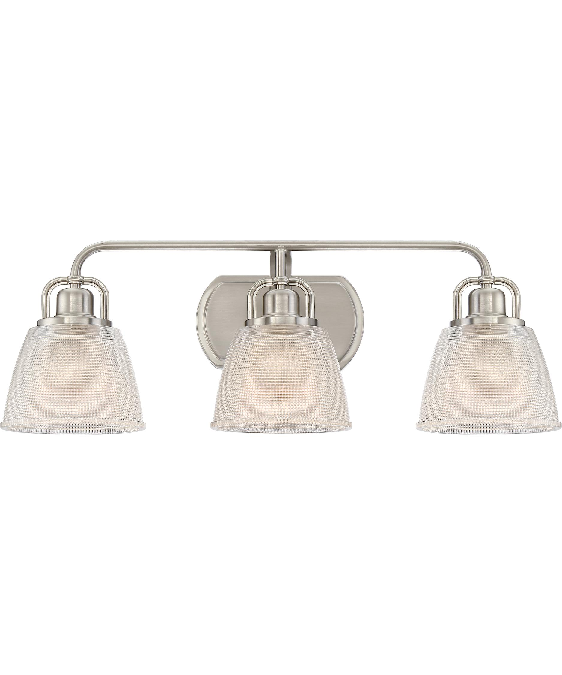 Bathroom Vanity Lights For Sale quoizel dbn8603 dublin 25 inch wide bath vanity light | capitol