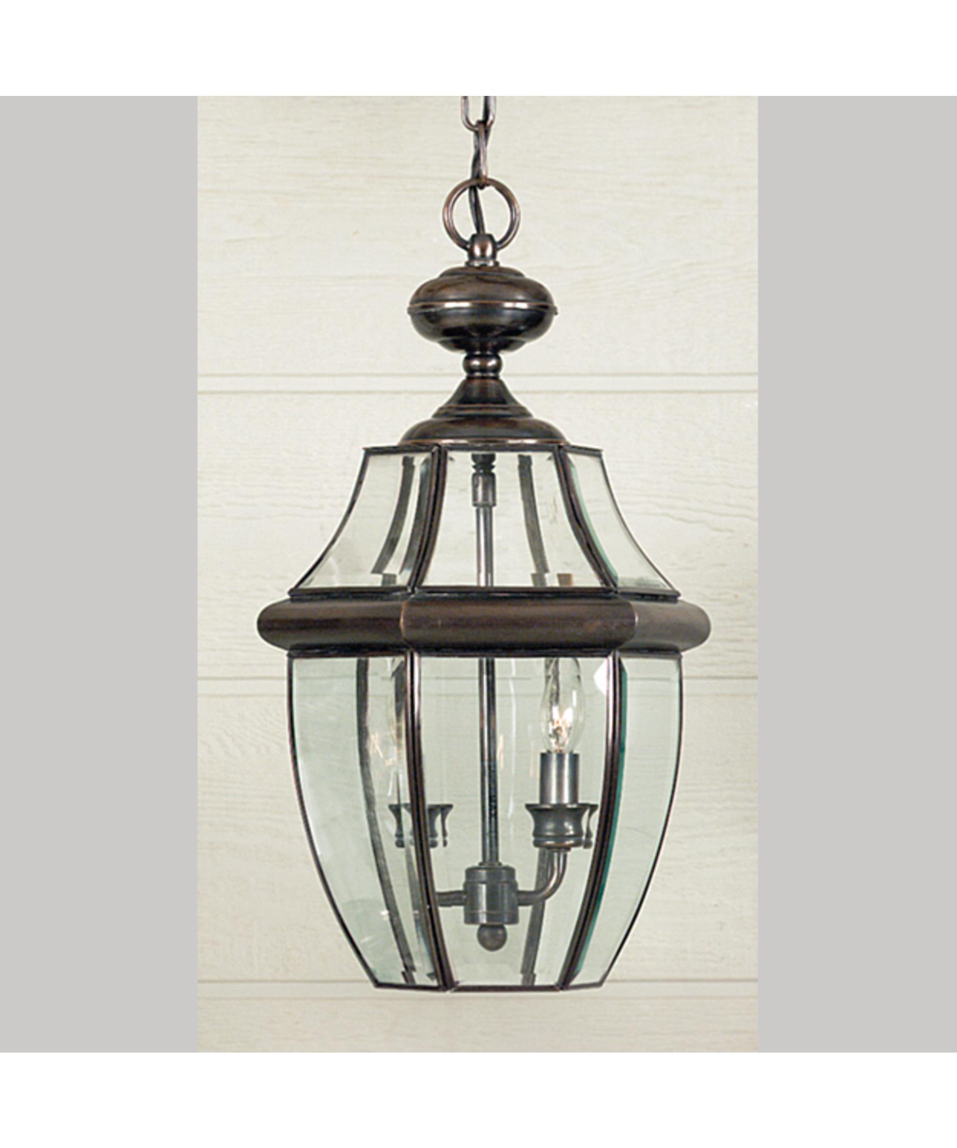 Quoizel Outdoor Lighting Newbury: Quoizel NY1178 Newbury 2 Light Outdoor Hanging Lantern
