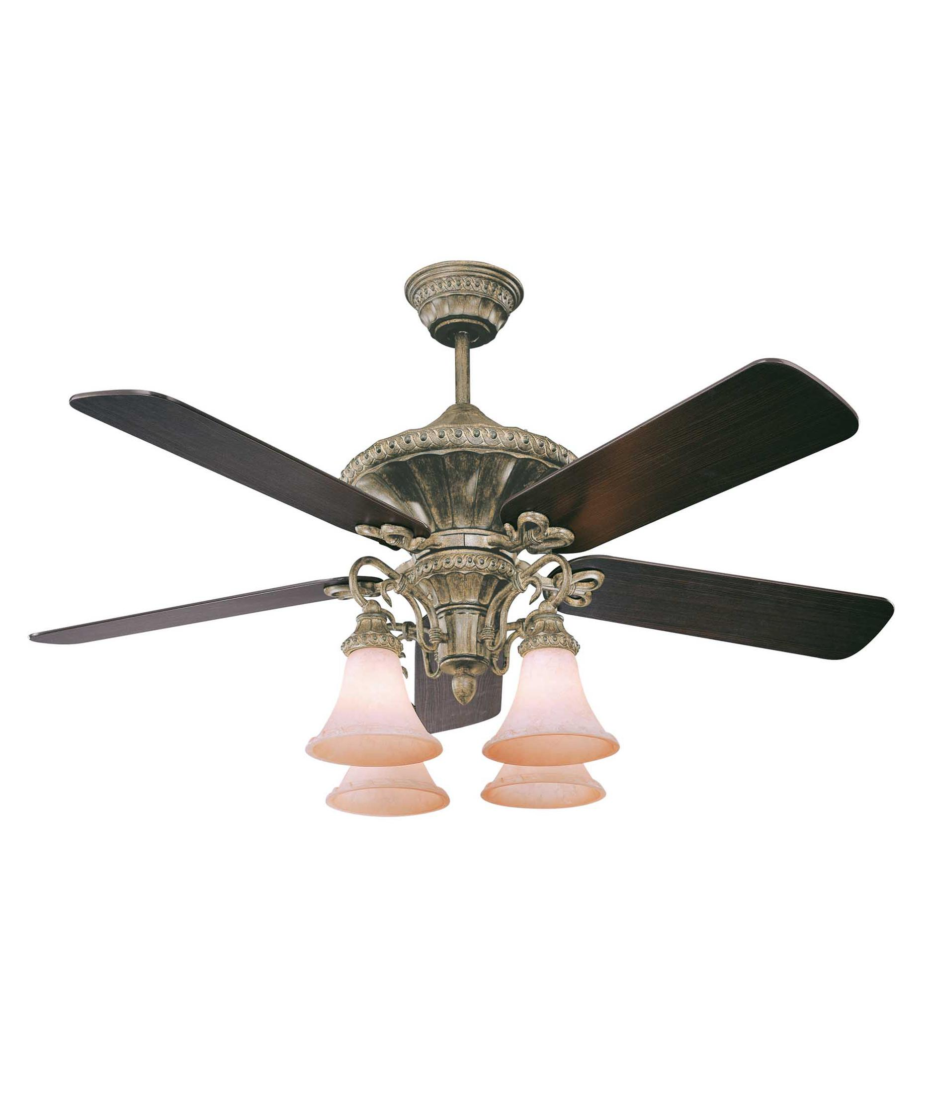 Murray Feiss Ceiling Fan Light Kit: Savoy House Villamoura 52 Inch Ceiling Fan