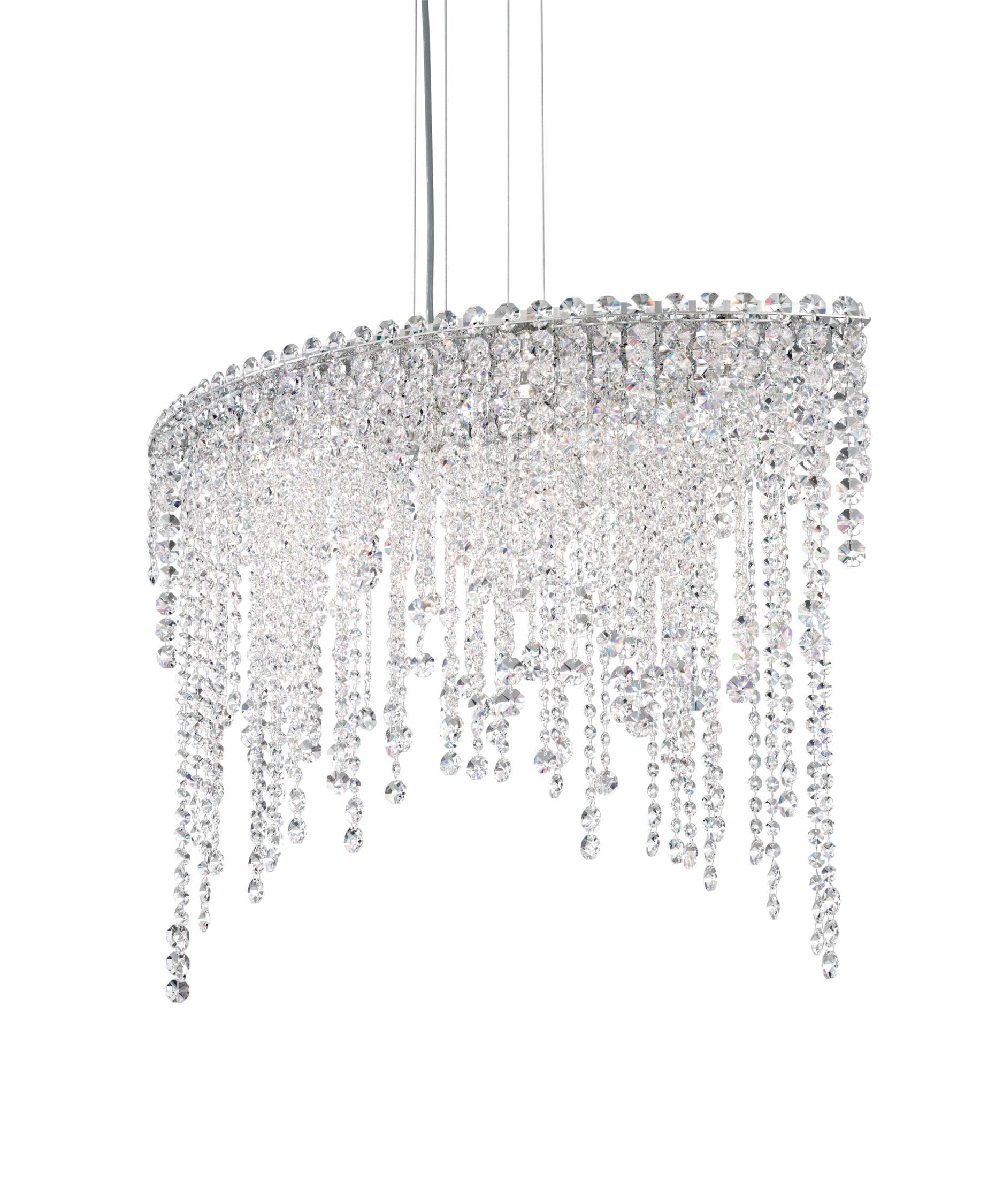 schonbek ch3612 chantant 33 inch wide 6 light large pendant capitol lighting - Schonbek