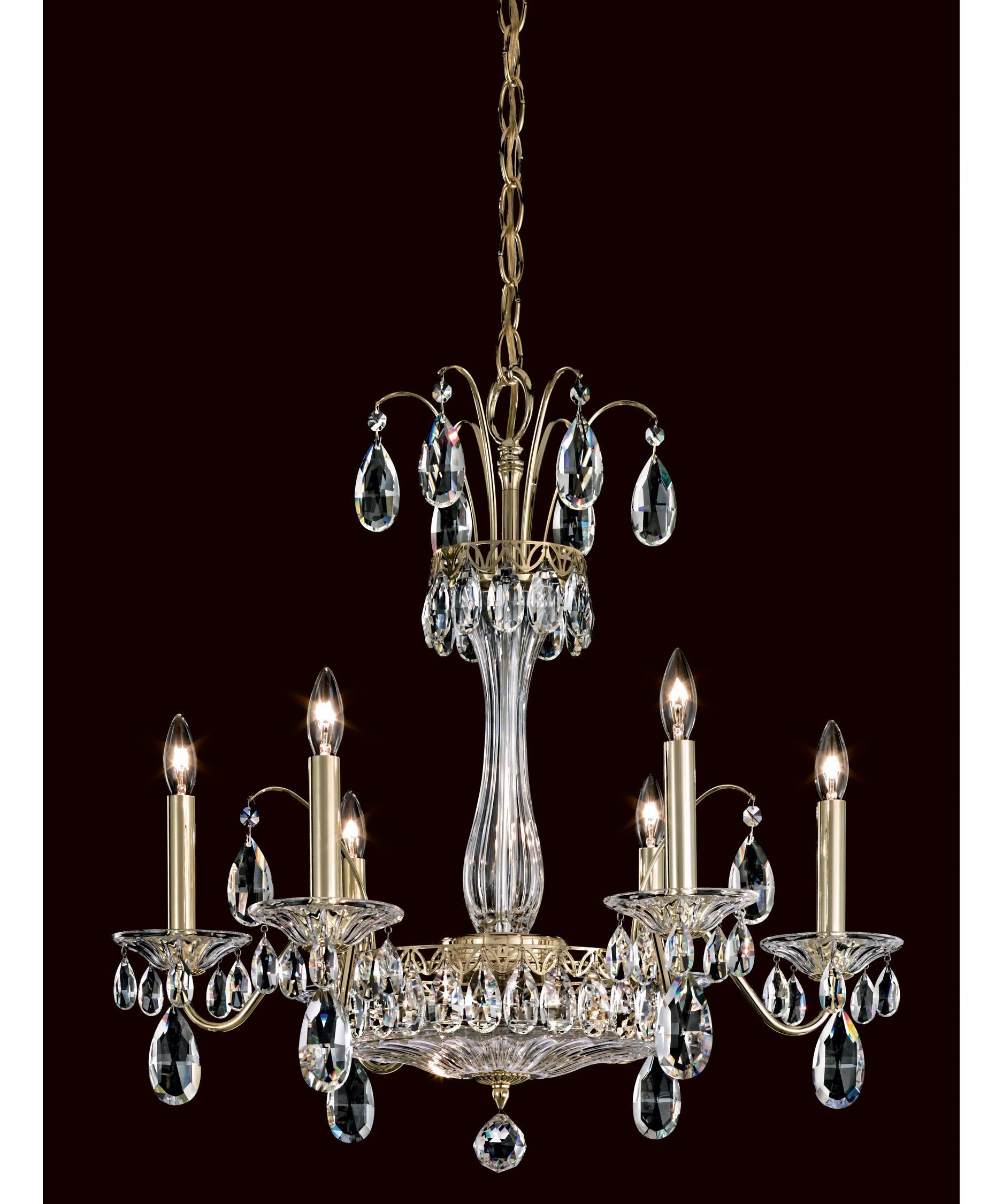 schonbek fl7706 fontana luce 24 inch wide 8 light chandelier capitol lighting - Schonbek