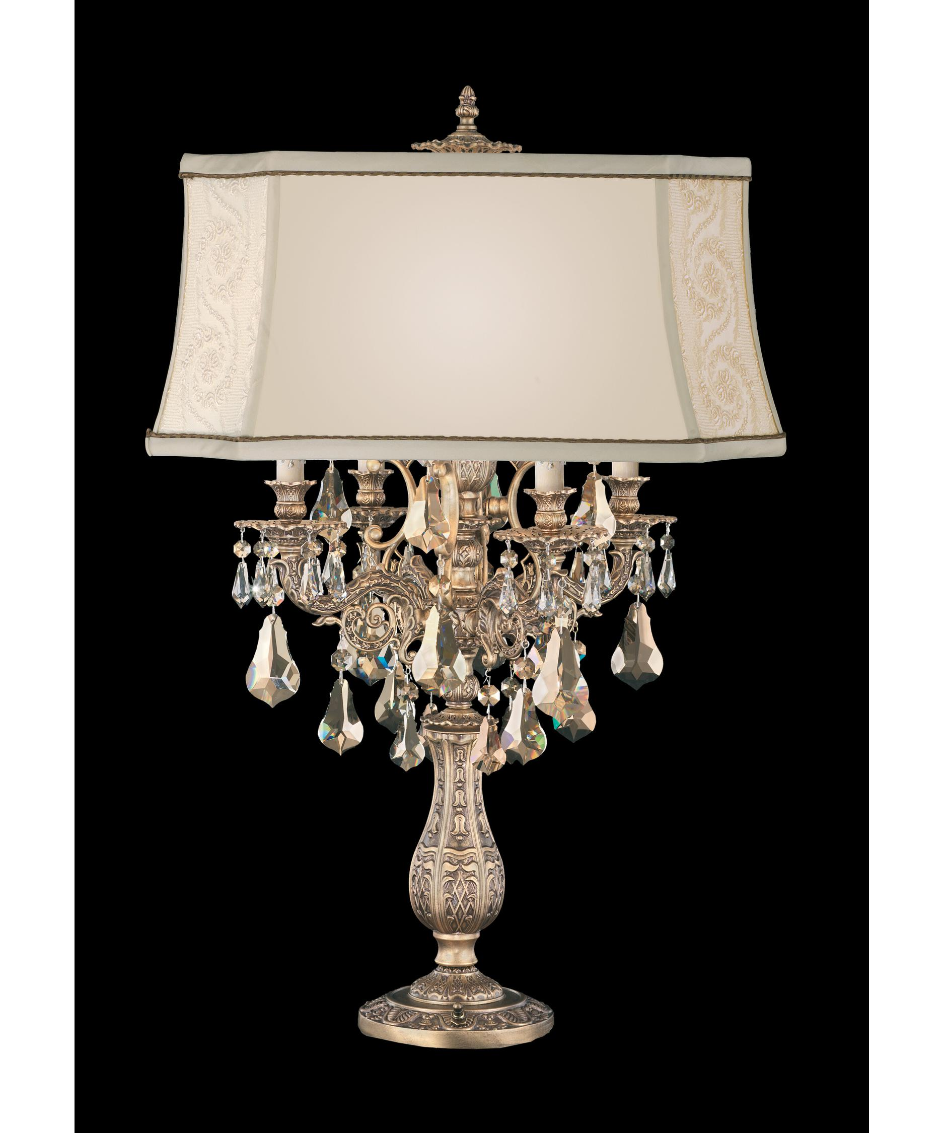 shown in florentine bronze finish and golden teak swarovski elements crystal - Schonbek Lighting