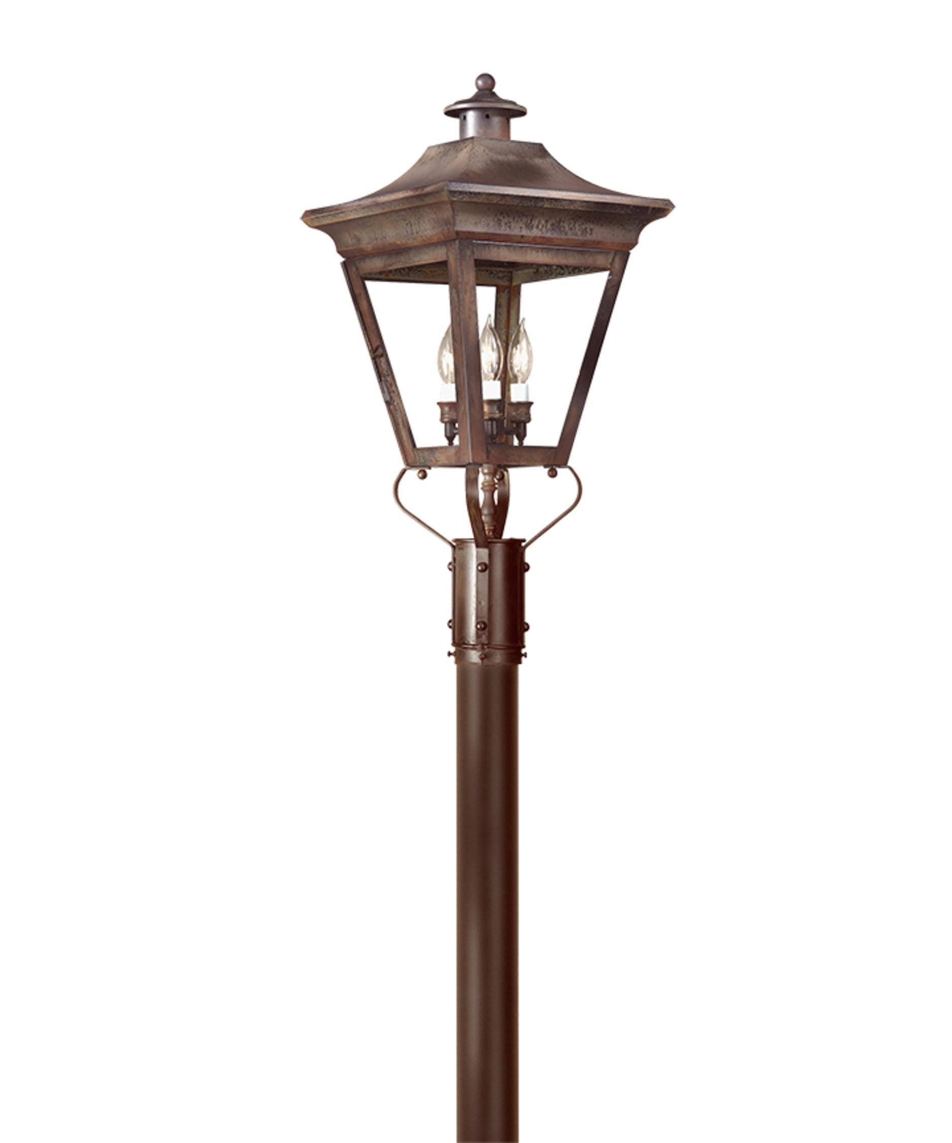 lighting p8934 oxford 3 light outdoor post lamp capitol lighting. Black Bedroom Furniture Sets. Home Design Ideas