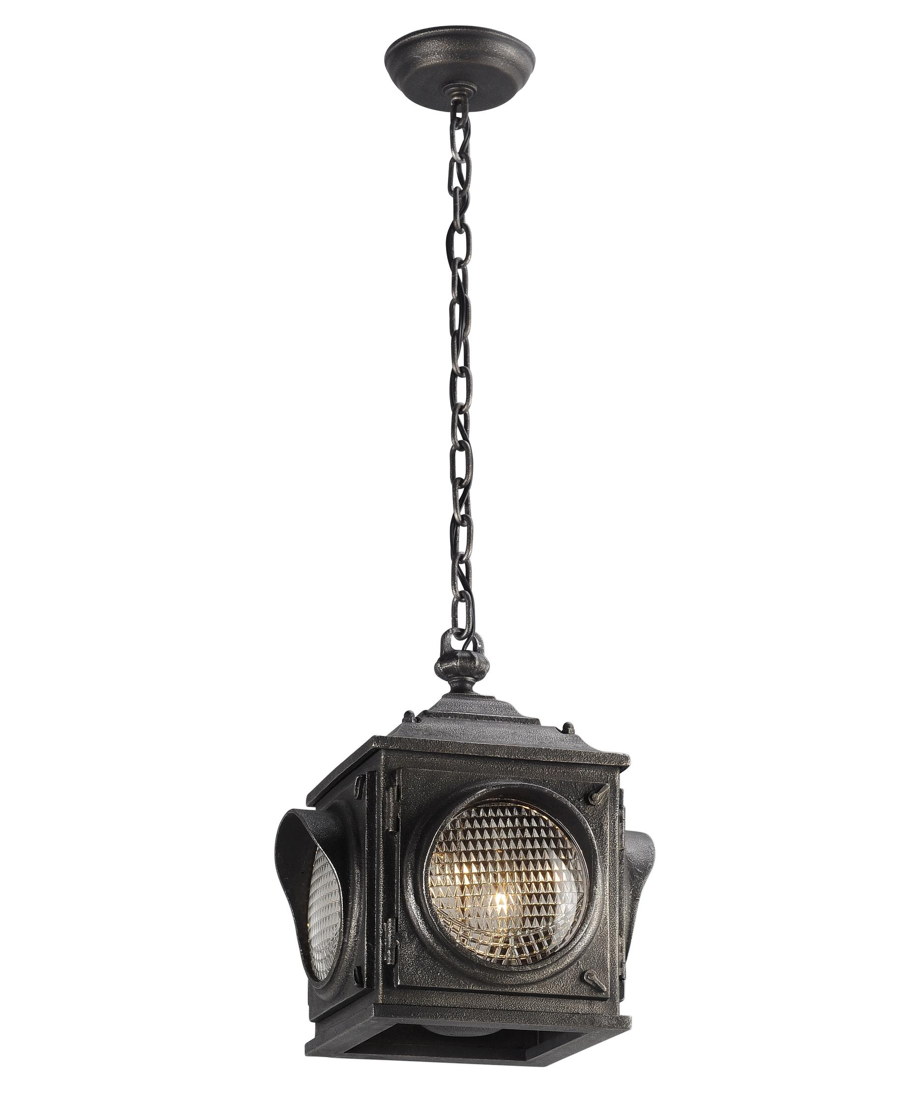 Outdoor Hanging Lights Vaxcel Whitebark Outdoor Pendant