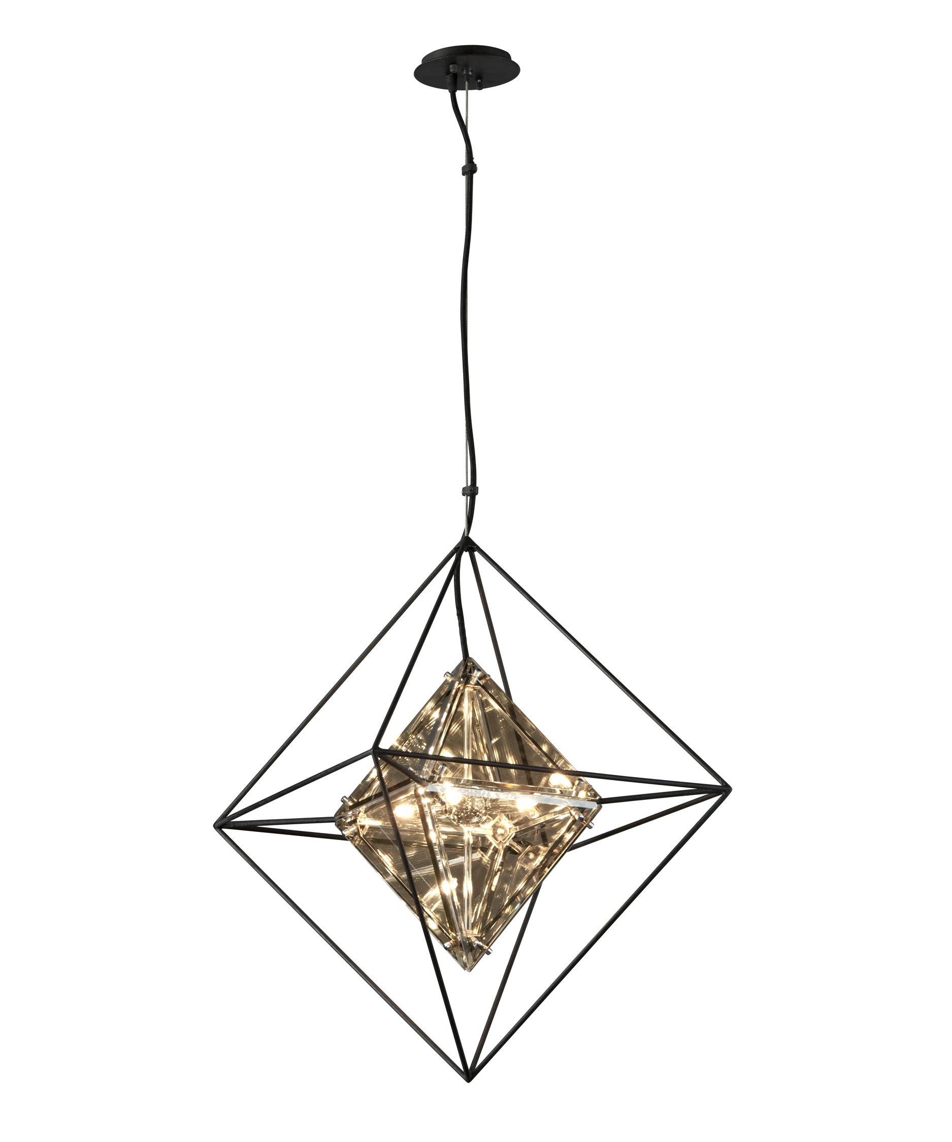 Troy Lighting F5325 Epic 18 Inch Wide 4 Light Large Pendant ...
