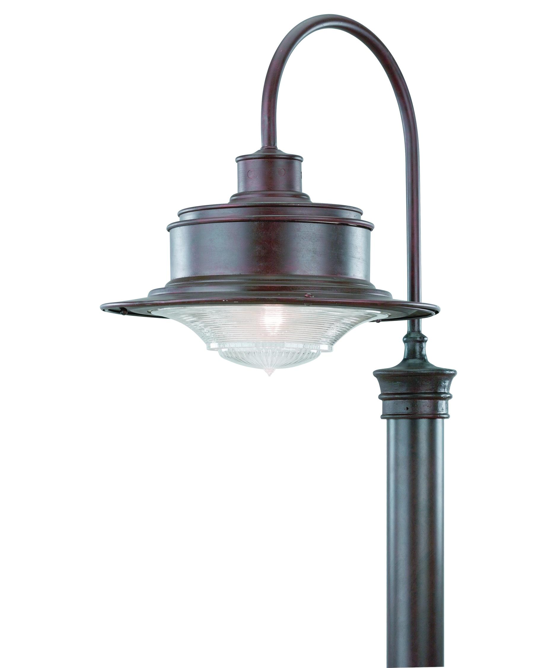 Outdoor Street Post Lights: Troy Lighting P9394 South Street 1 Light Outdoor Post Lamp