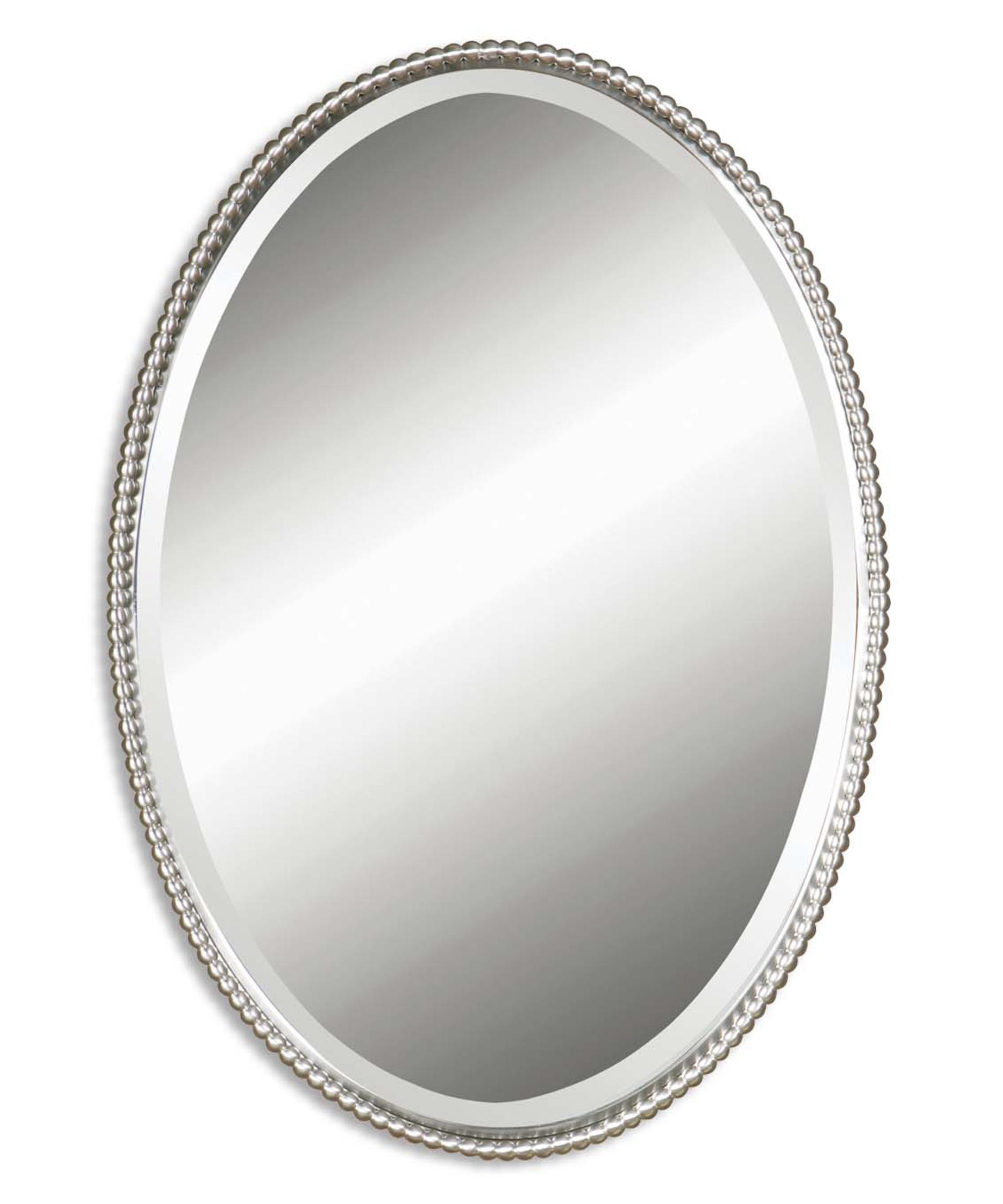 Oval Wall Mirror uttermost 01102b sherise oval wall mirror | capitol lighting 1