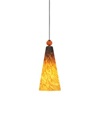 Shown with Tahoe Pine Amber glass with Amber Ball