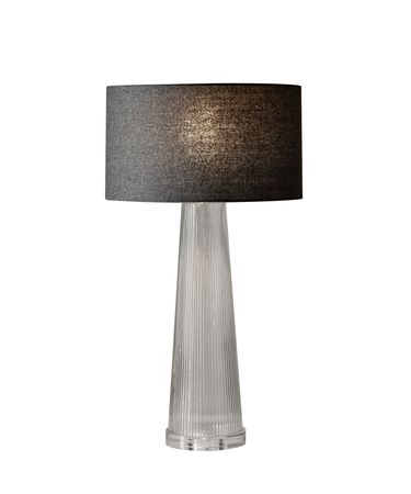 Shown in Clear Bubble finish and Dark Grey Soft-Touch Fabric shade