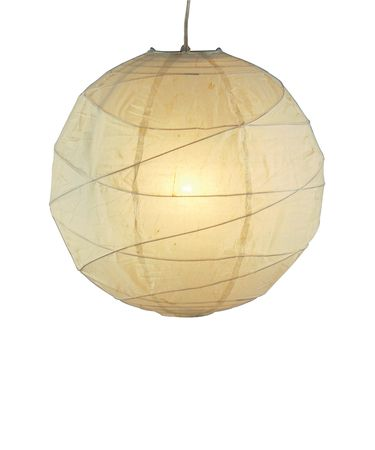 Shown in Natural finish and Rice Paper shade